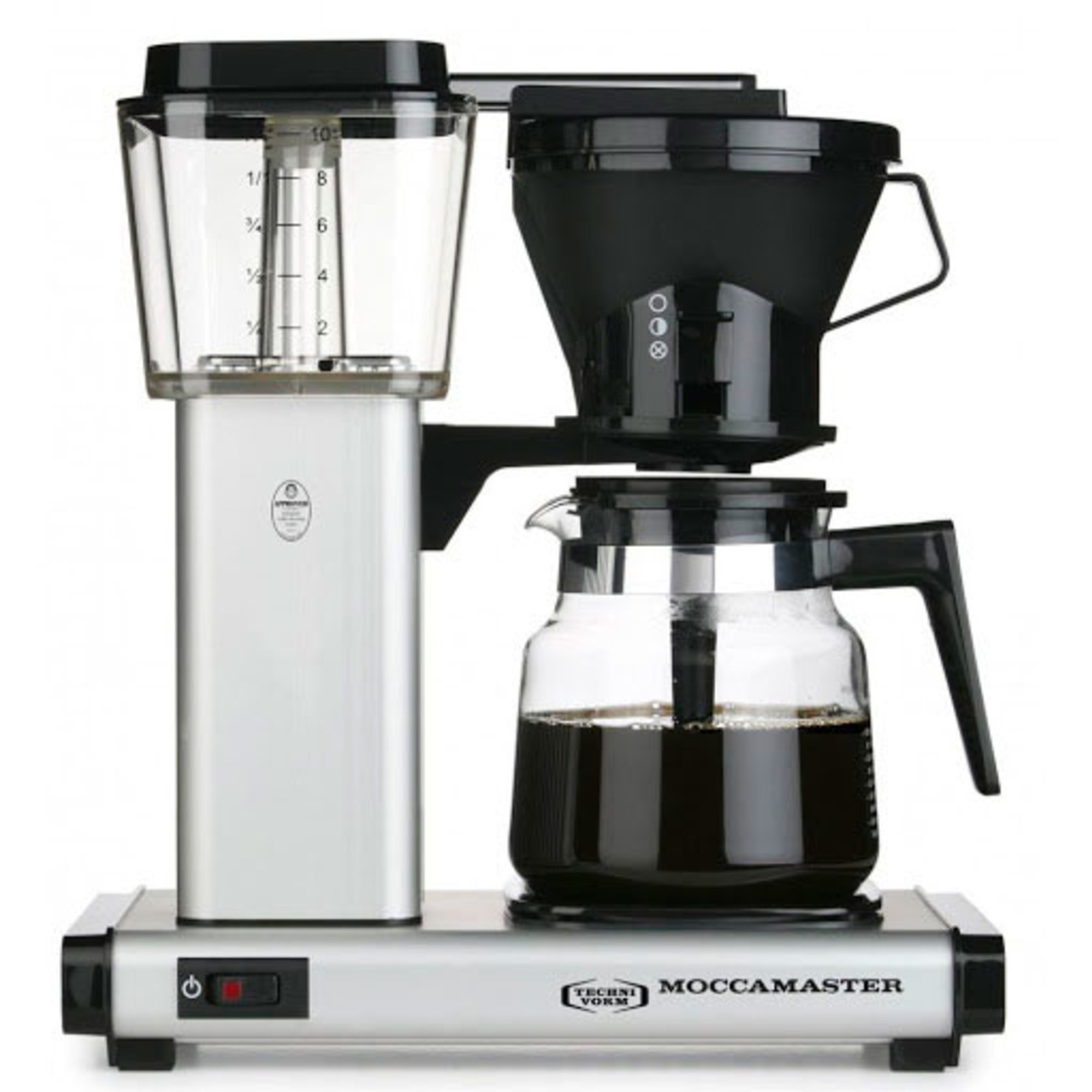 Moccamaster Kaffebryggare HB951AO Matt Silver