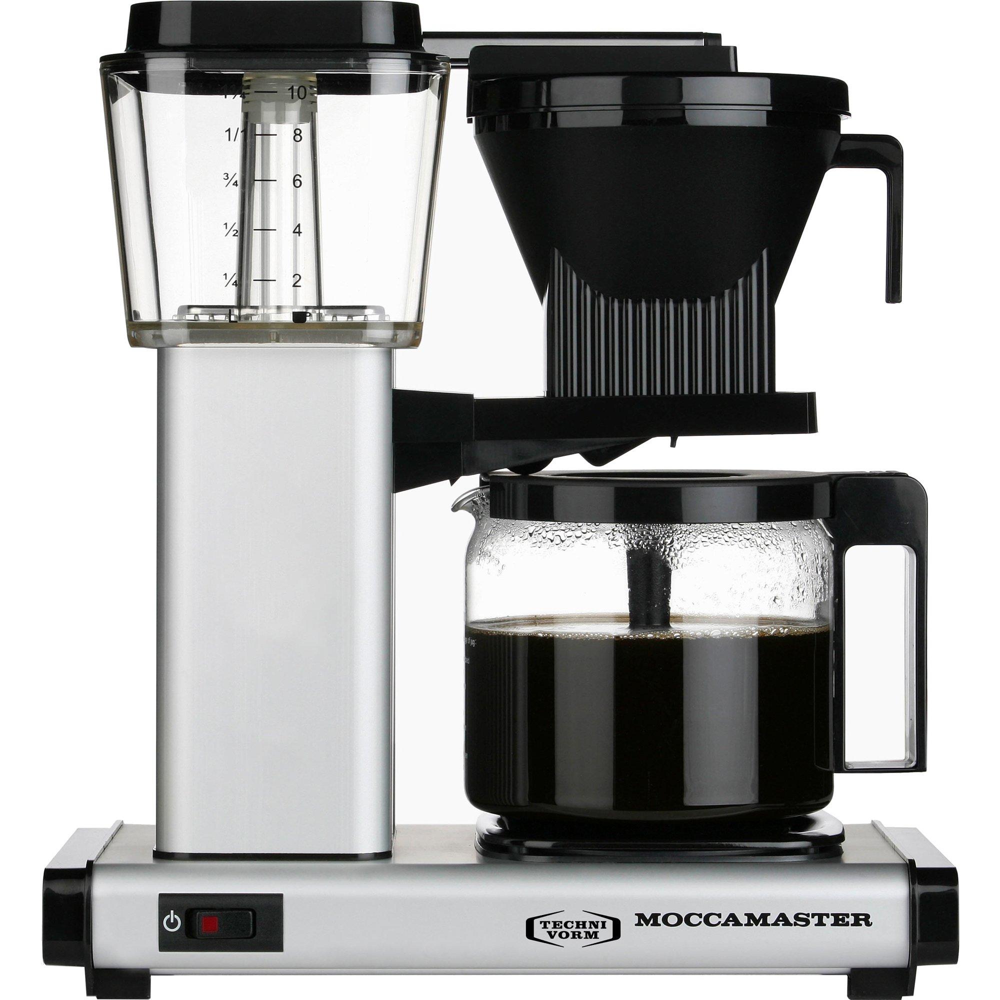 Moccamaster Kaffebryggare HBG961AO – Matt Silver