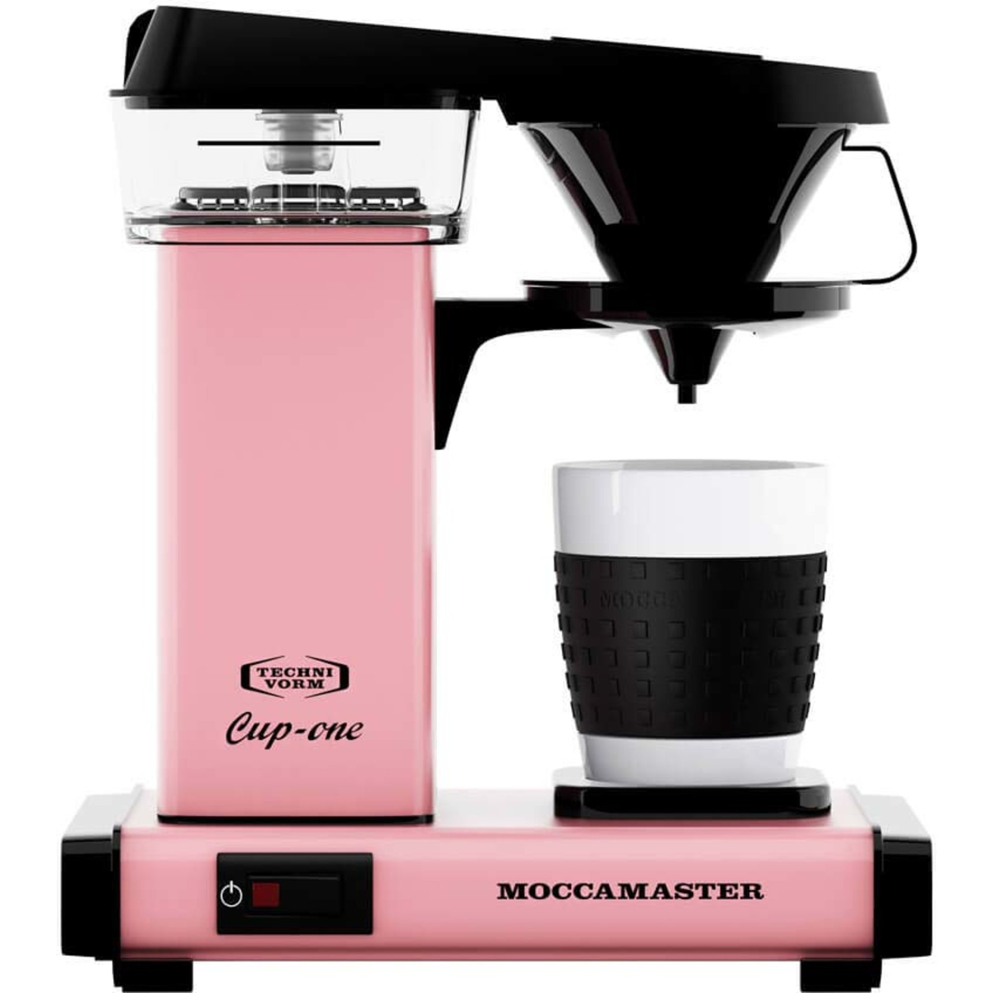 Moccamaster Kaffebryggare Cup One Rosa