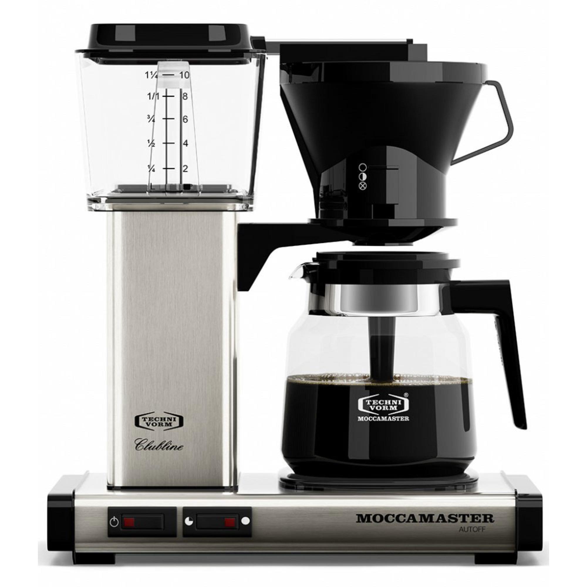 Moccamaster Kaffebryggare KB952AO Borstad Metall