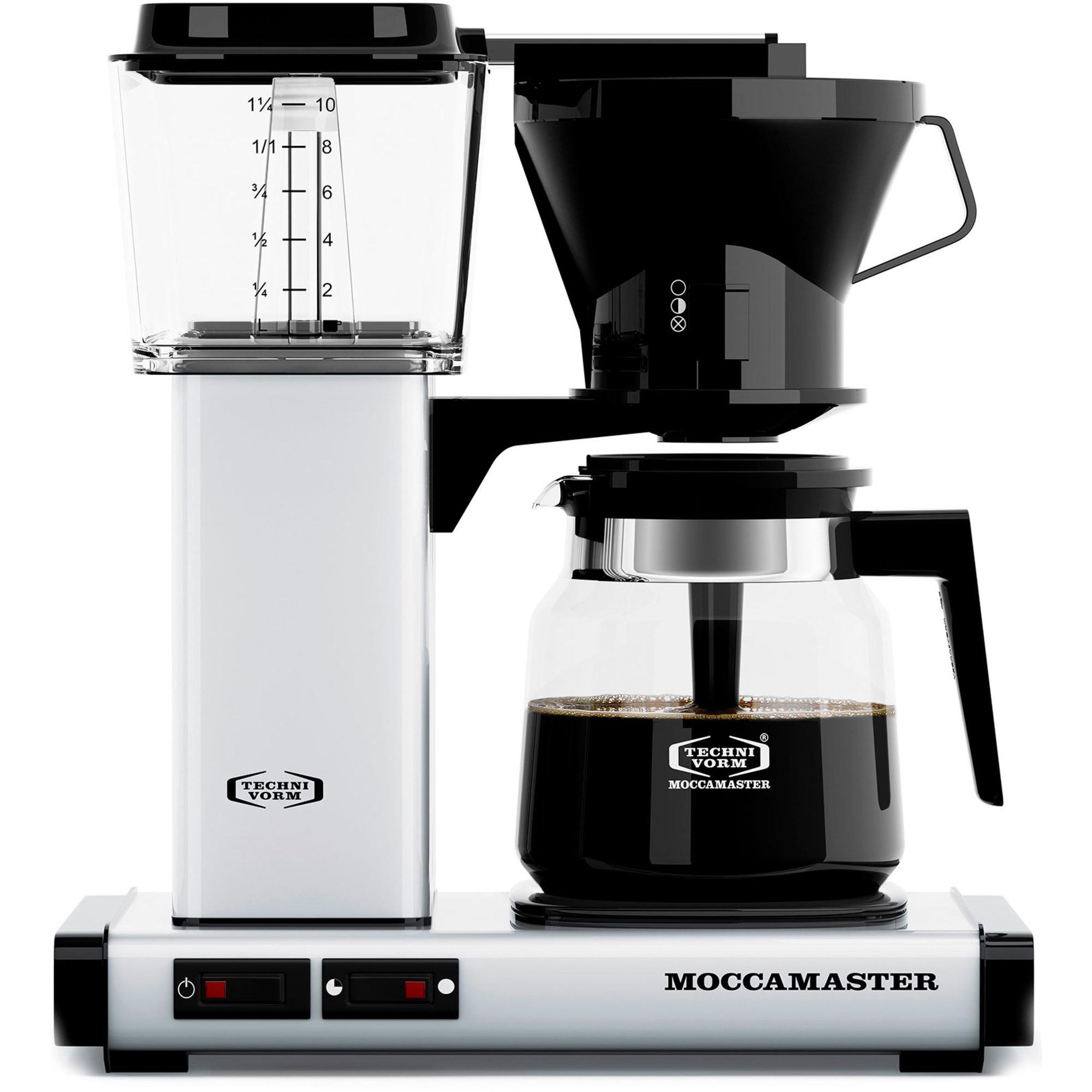 Moccamaster Kaffebryggare KB952AO Clubline Vit