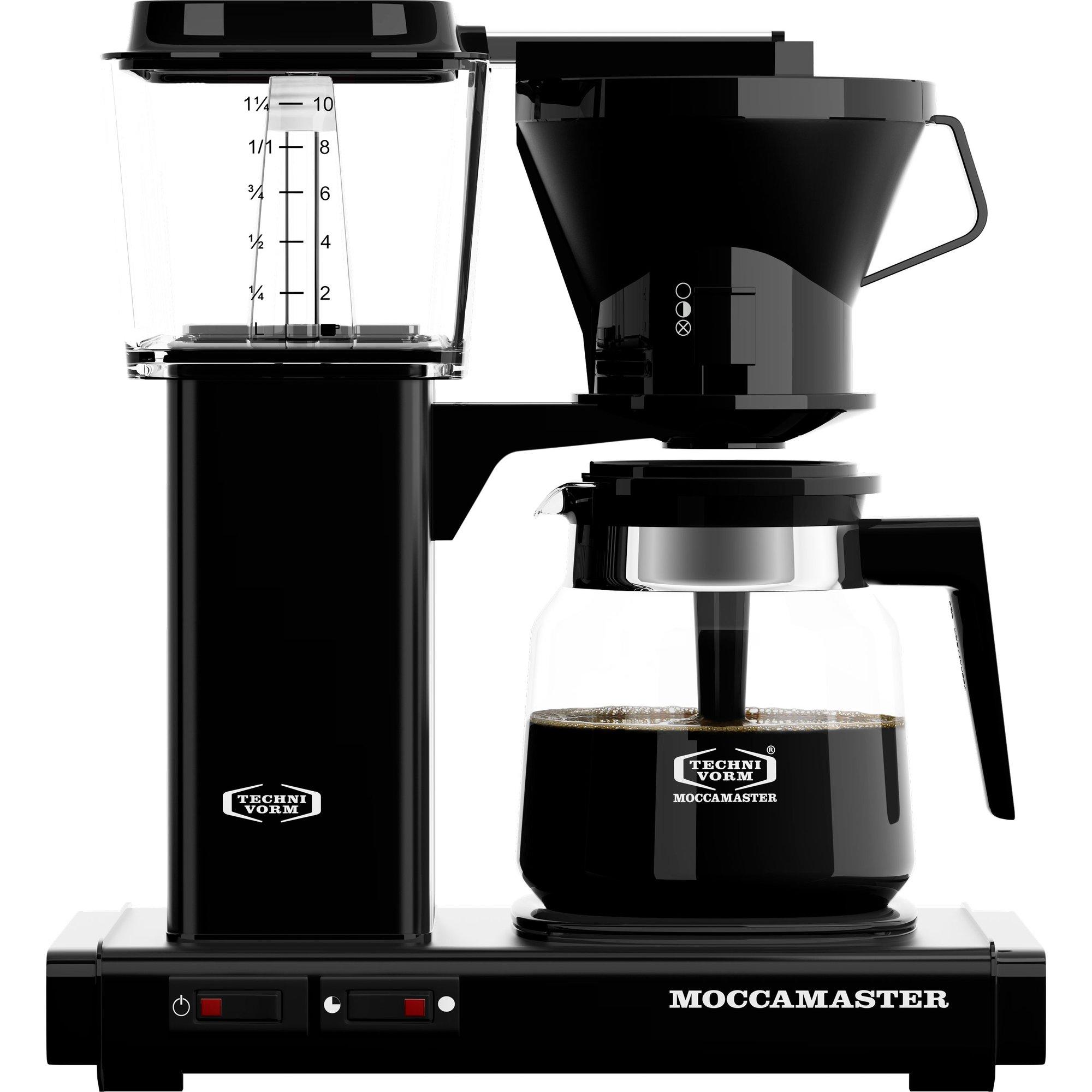 KB952 sort kaffetrakter fra Moccamaster » Gratis Levering