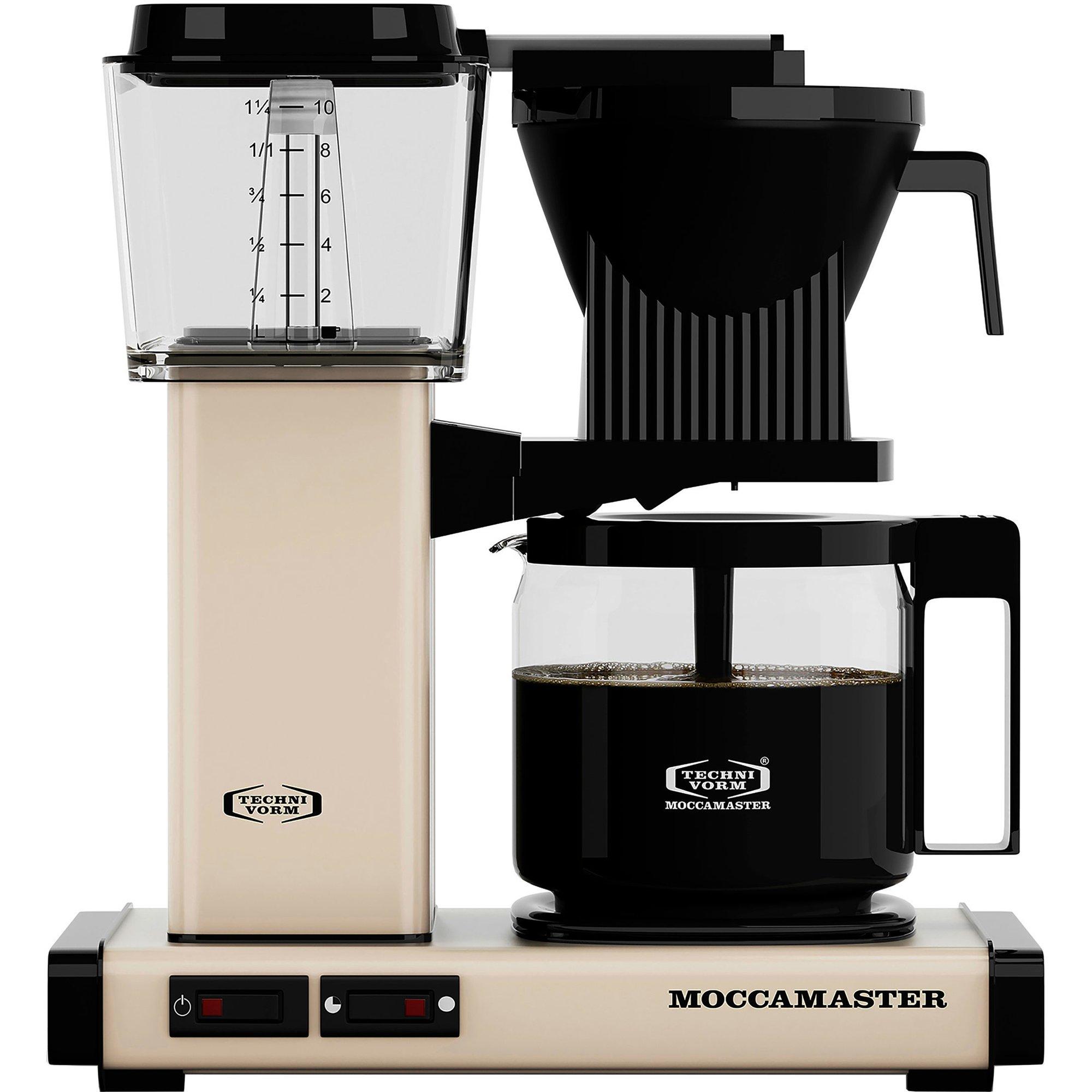 Moccamaster Kaffebryggare KBG962AO – Light Ivory
