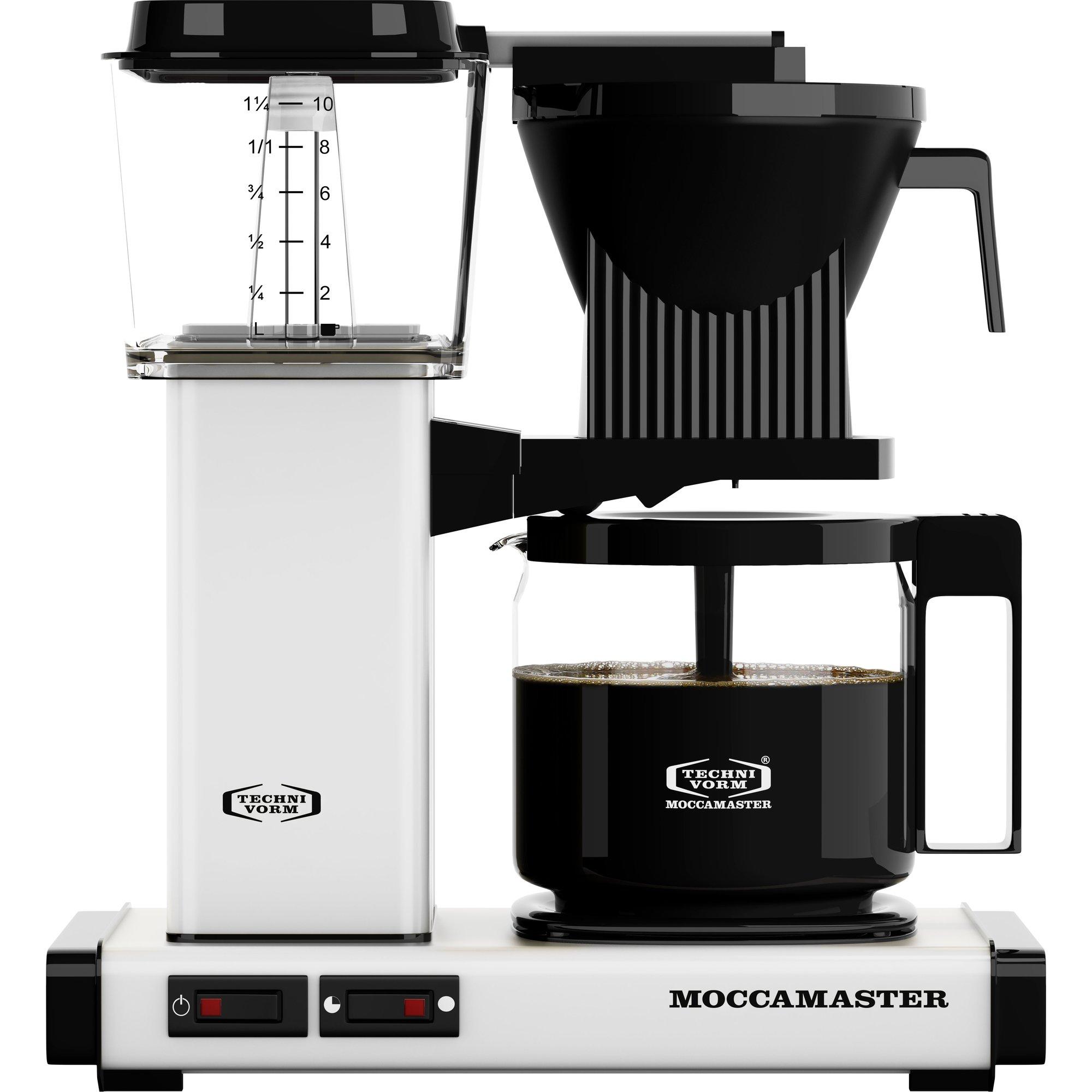 Moccamaster Kaffebryggare KBG962AO Polished White