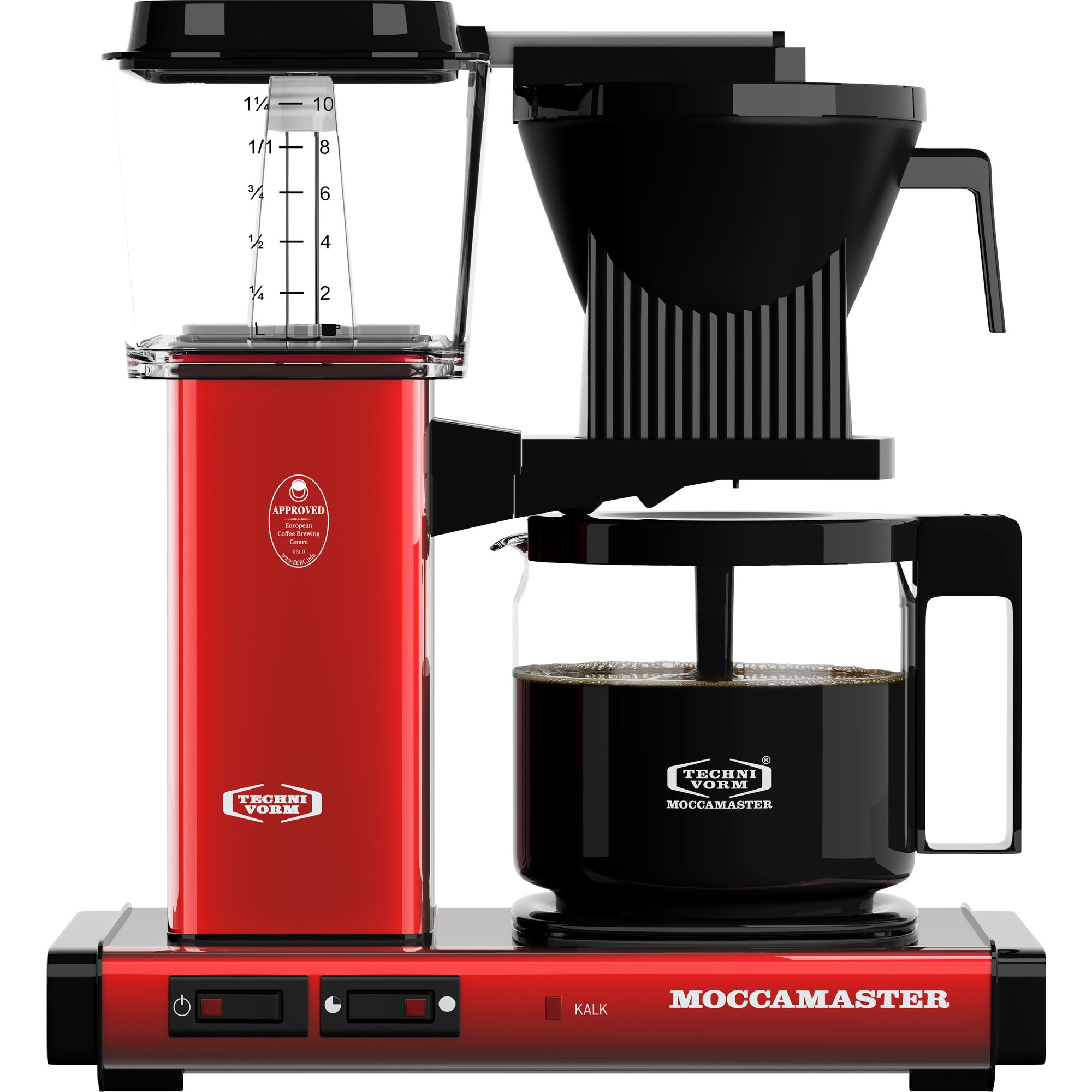 Moccamaster Kaffebryggare KBGC982AO Red Metallic