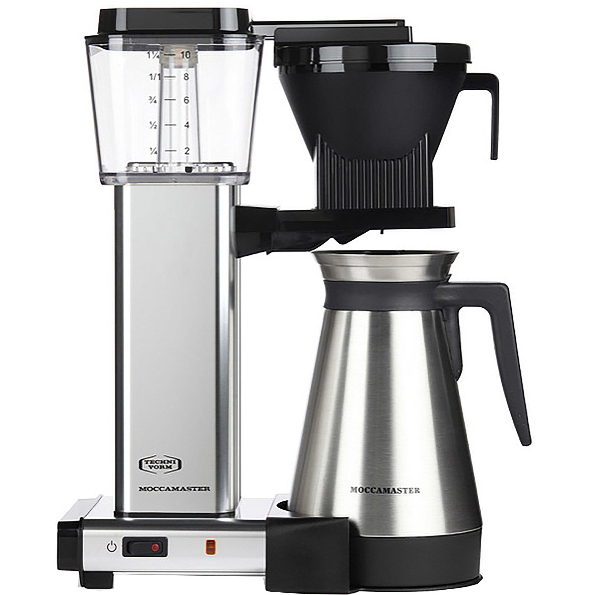 Lock till termokanna, Moccamaster kaffebryggare Svart