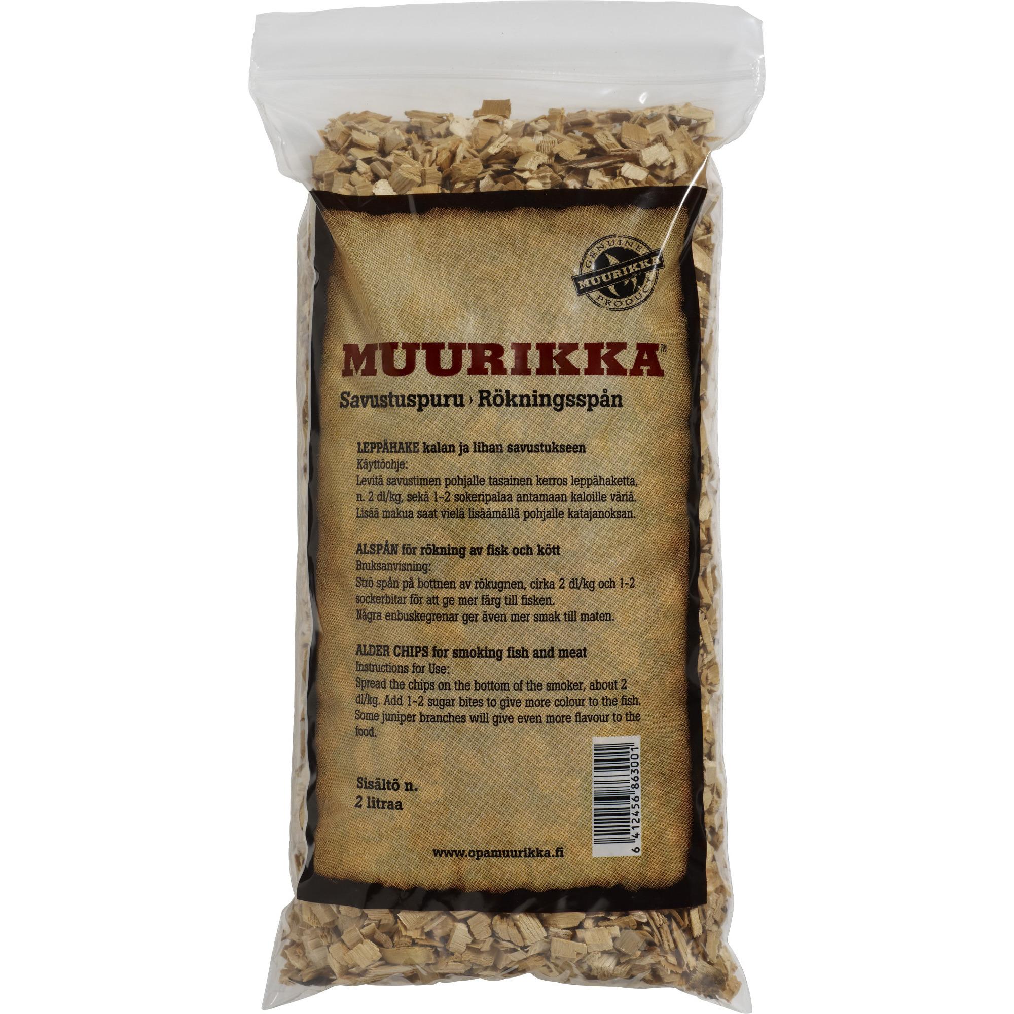 Muurikka Rökspån Al 2 liter