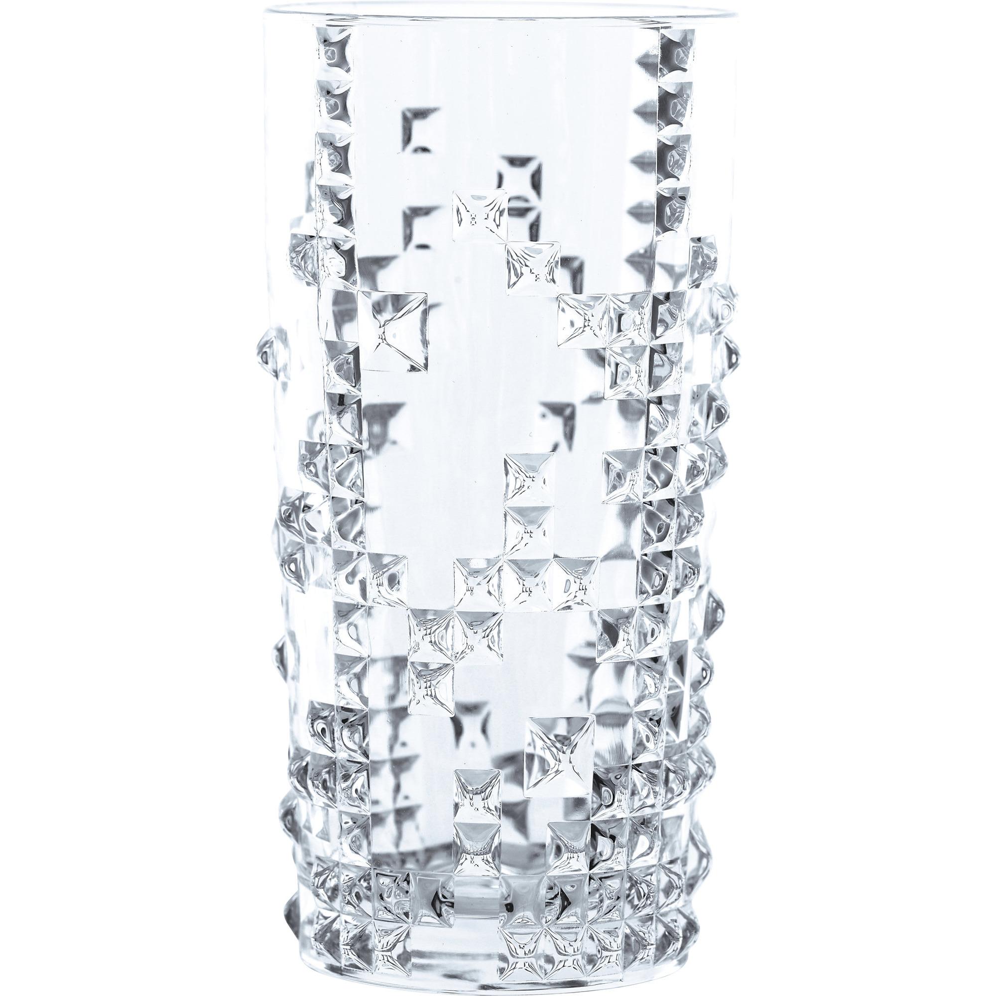 Nachtmann Punk Longdrinkglas 39cl 4-p