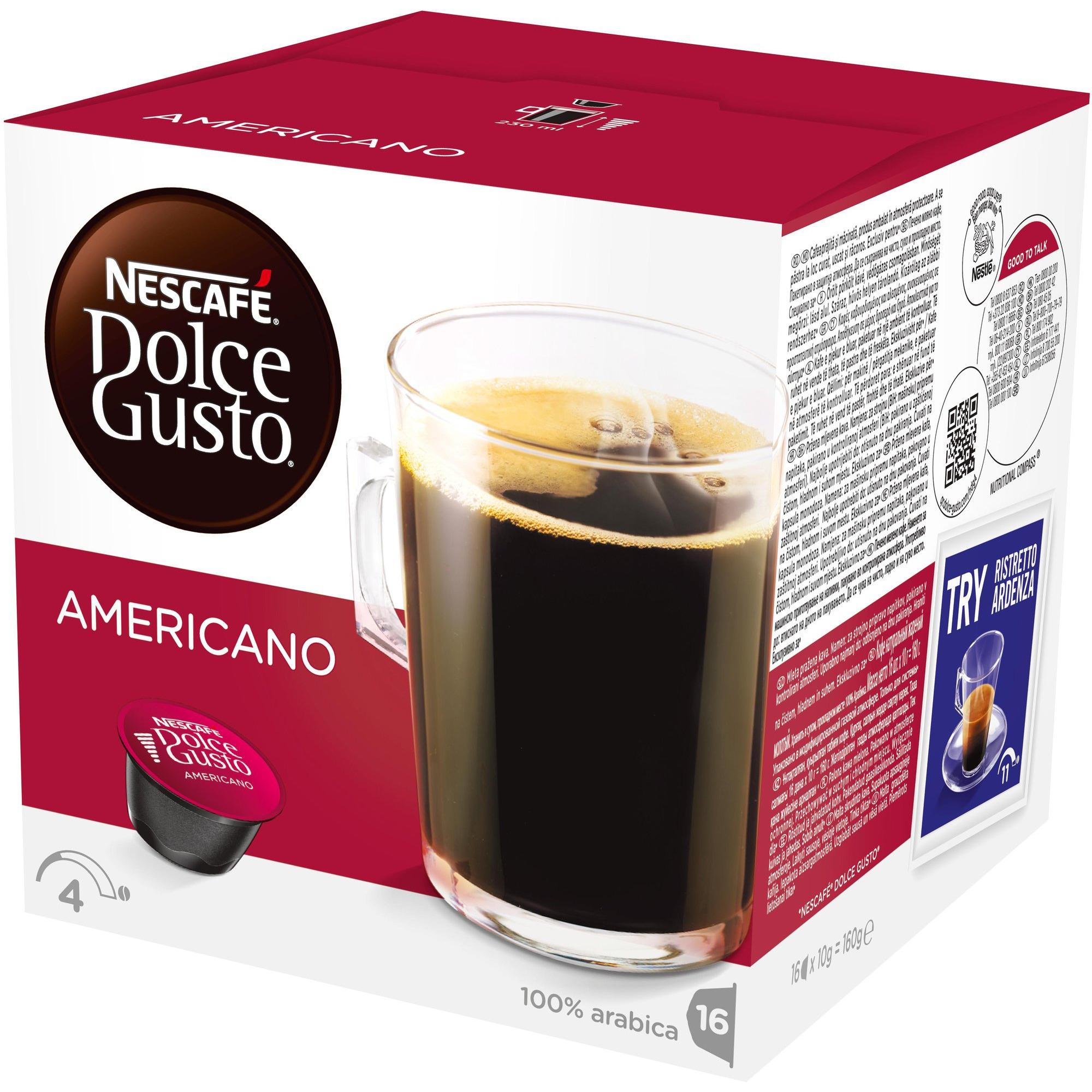 Nescafé Dolce Gusto Americano Kaffekapslar