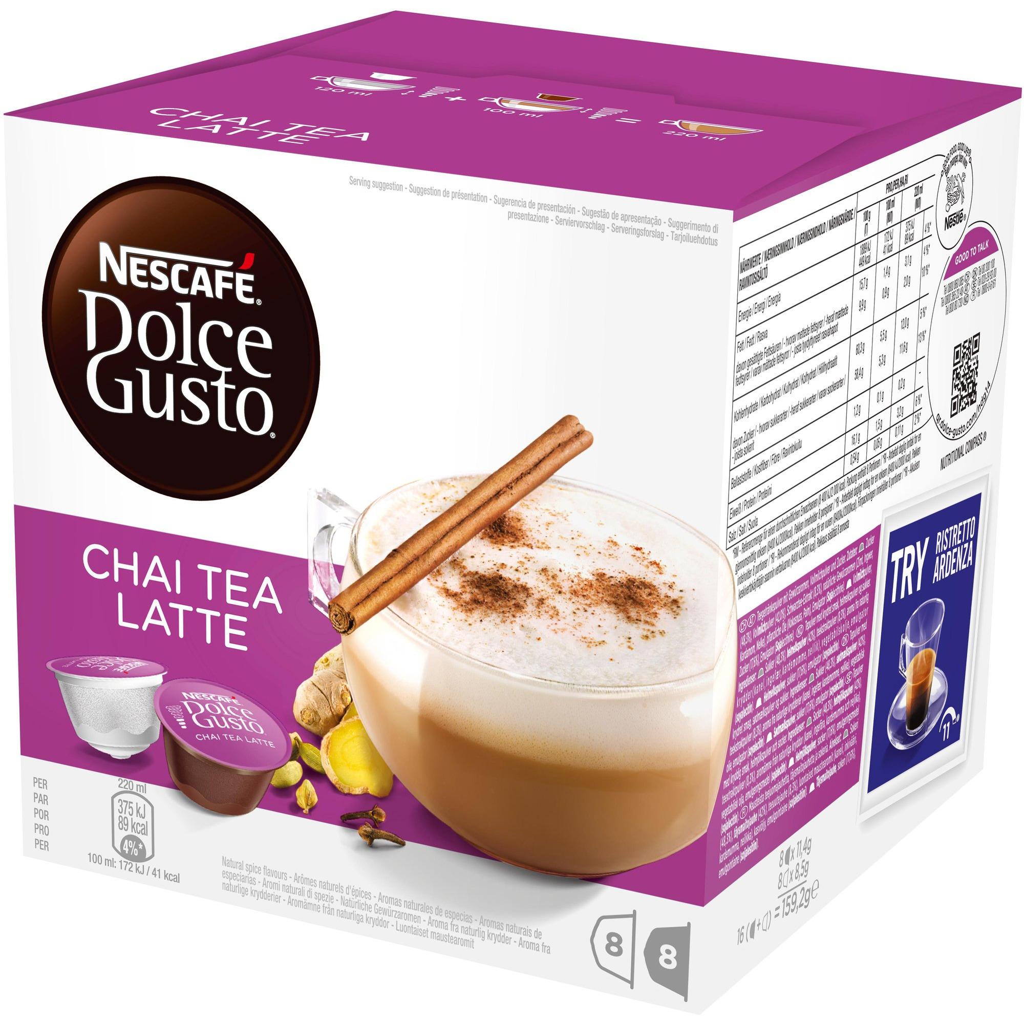 Nescafé Dolce Gusto Chai Tea Latte Kapslar