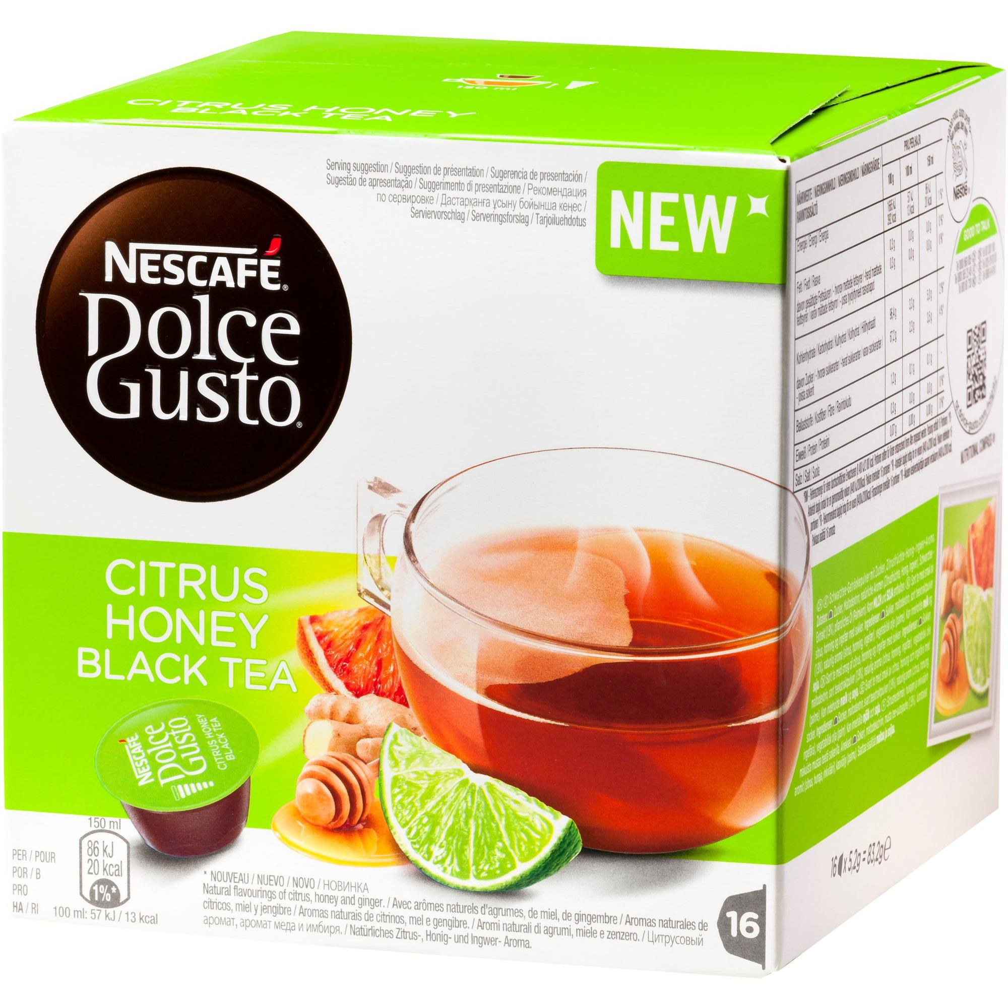 Nescafé Dolce Gusto Citrus Honey Black Tea Kapslar