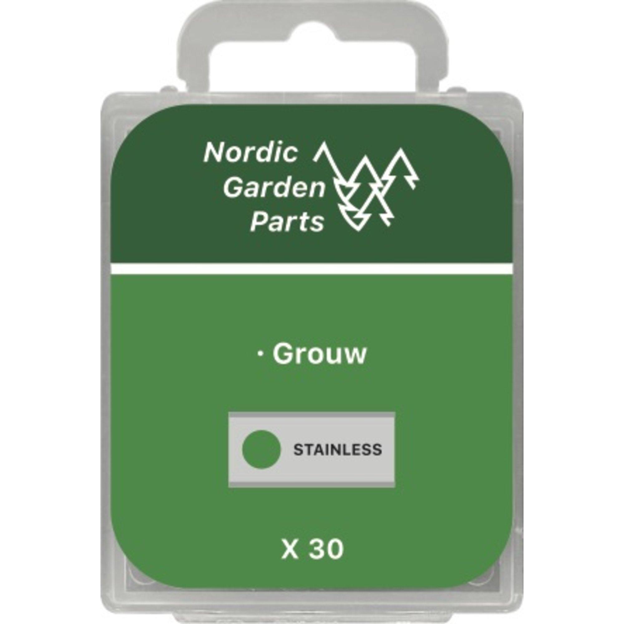 Nordic Garden Parts Kniv till Grouw robotgräsklippare 0,9 mm. 30 st