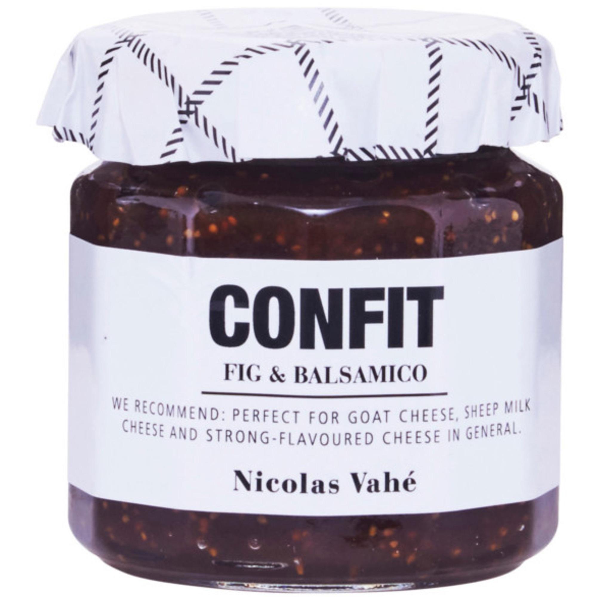 Nicolas Vahé Confit Fig & Balsamico