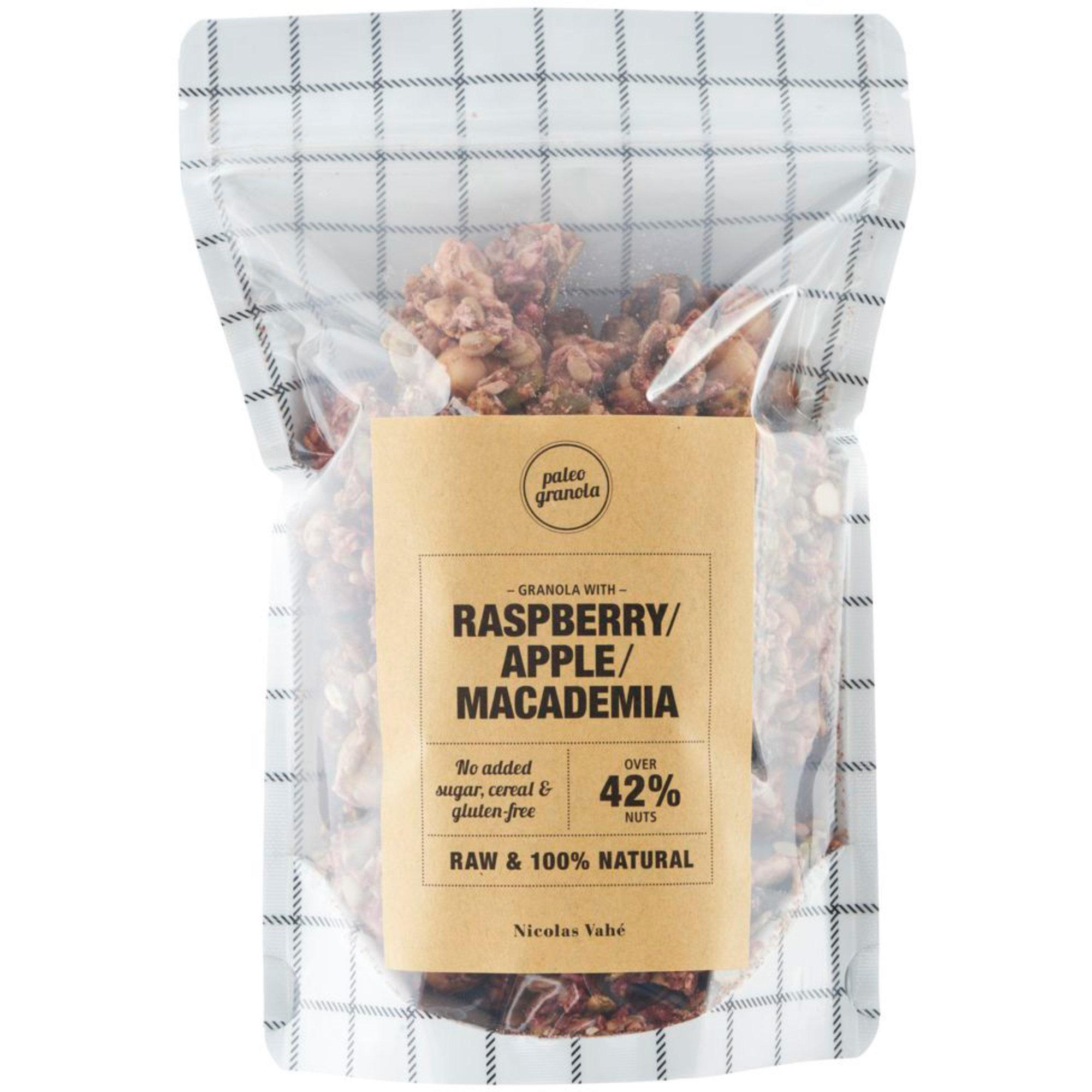 Nicolas Vahé Granola m. hallon äpple och macademianötter