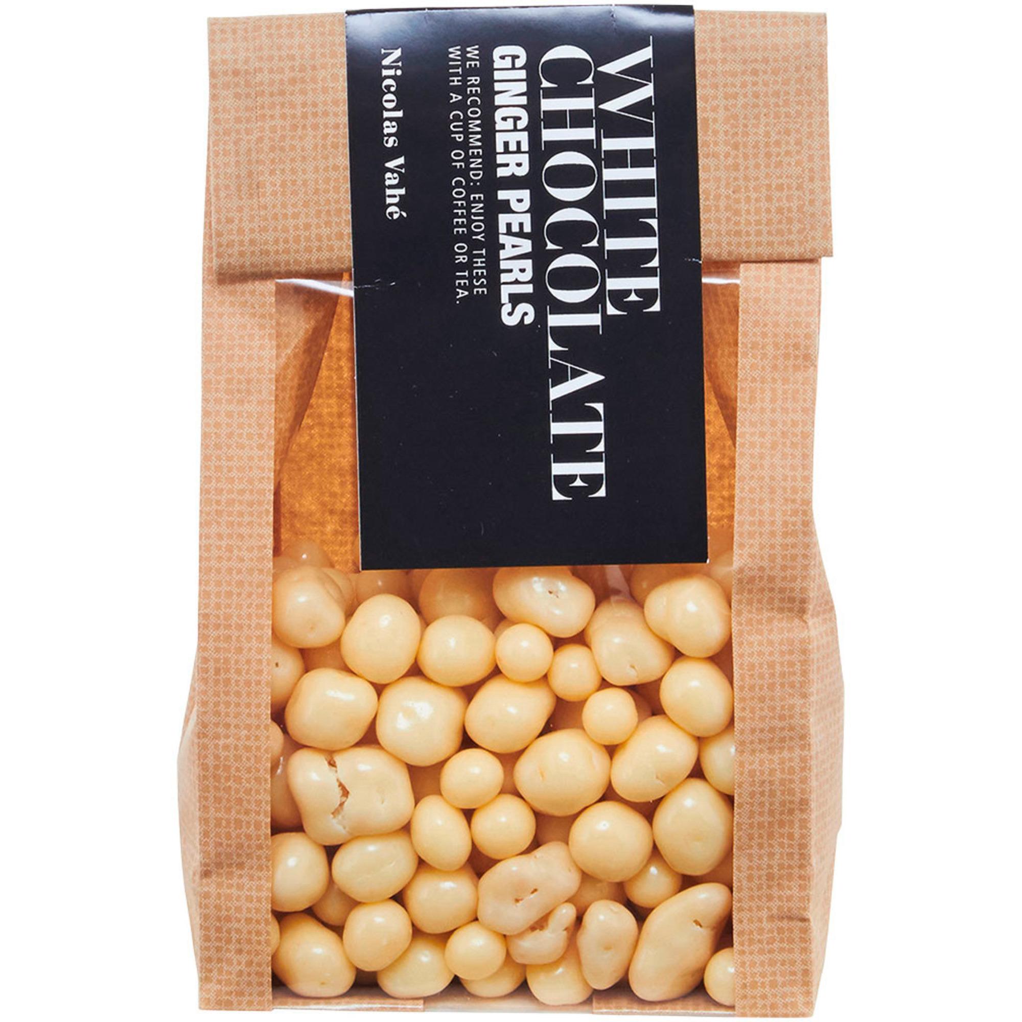 Nicolas Vahé Ingefärapärlor med vit choklad