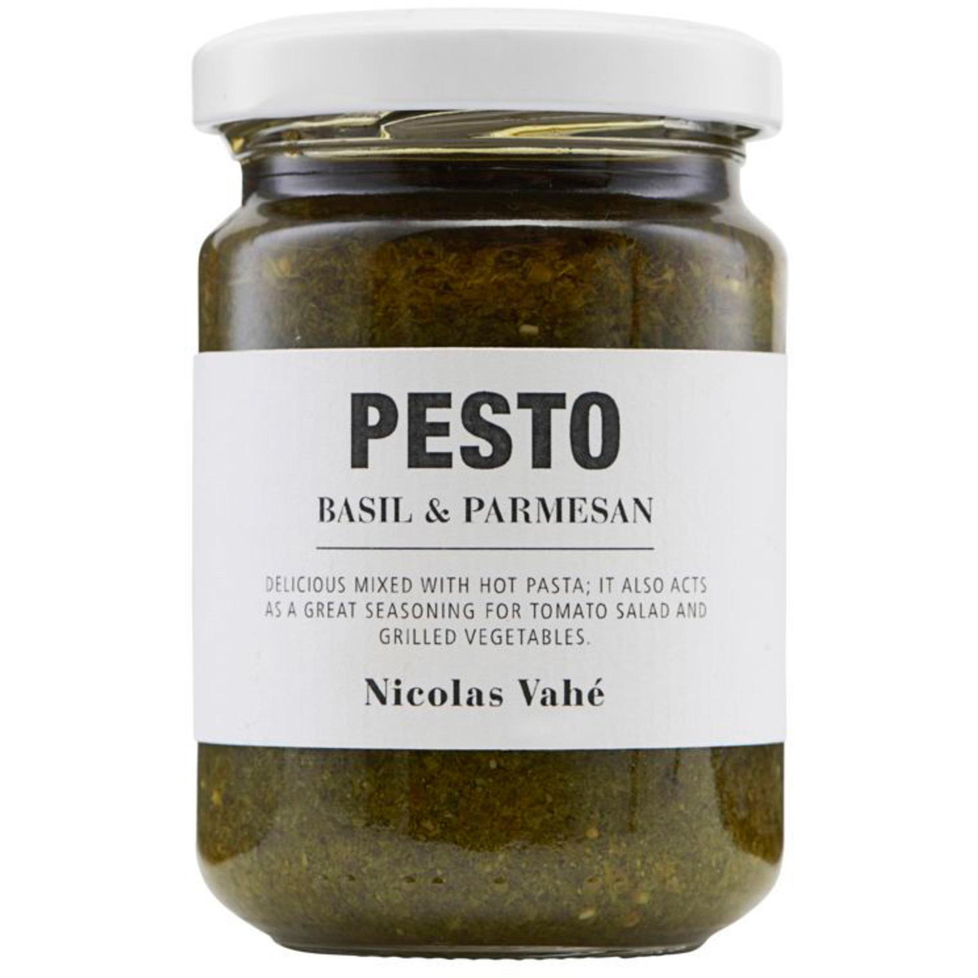 Nicolas Vahé Pesto m. Basilika och parmesan
