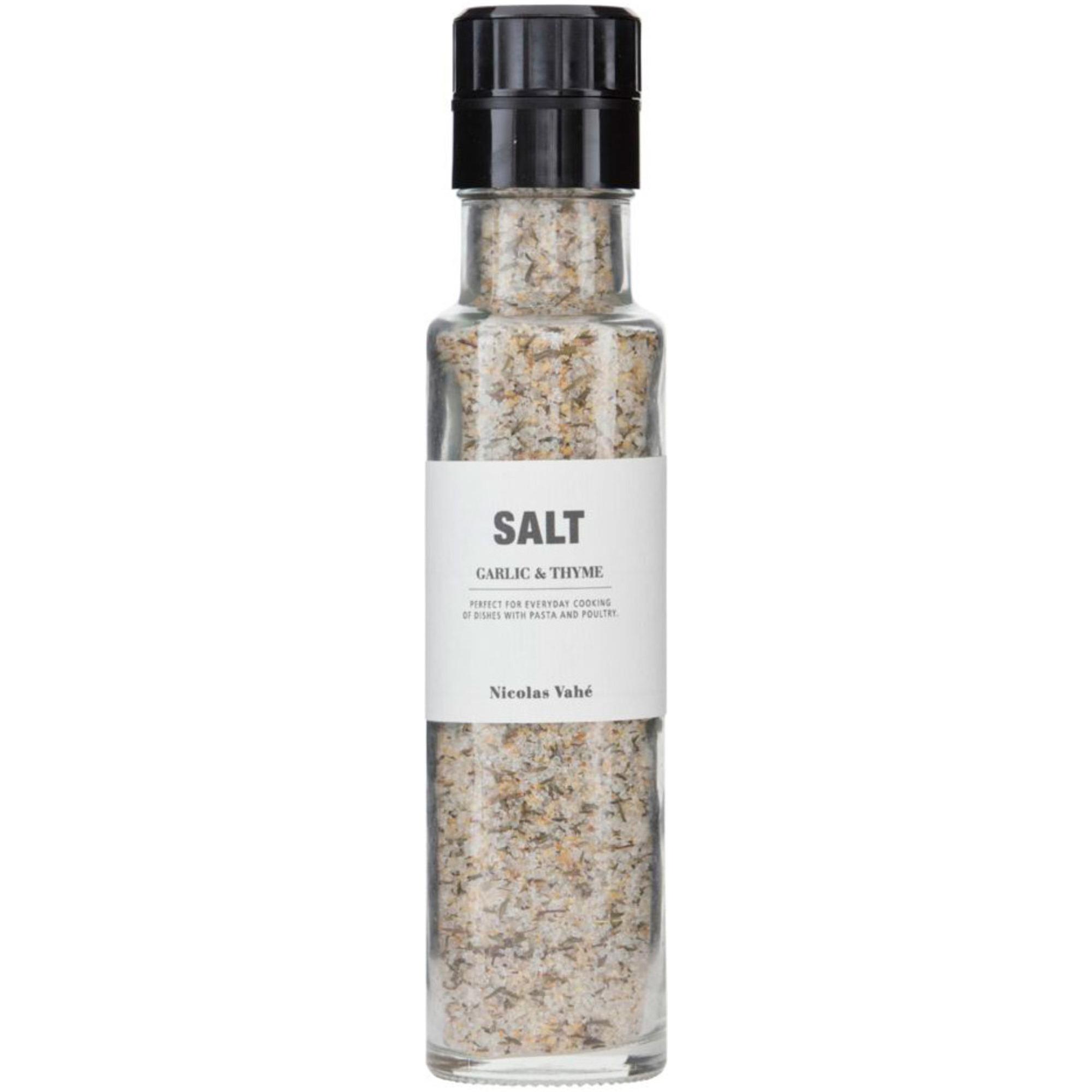 Nicolas Vahé Salt m. vitlök och timjan