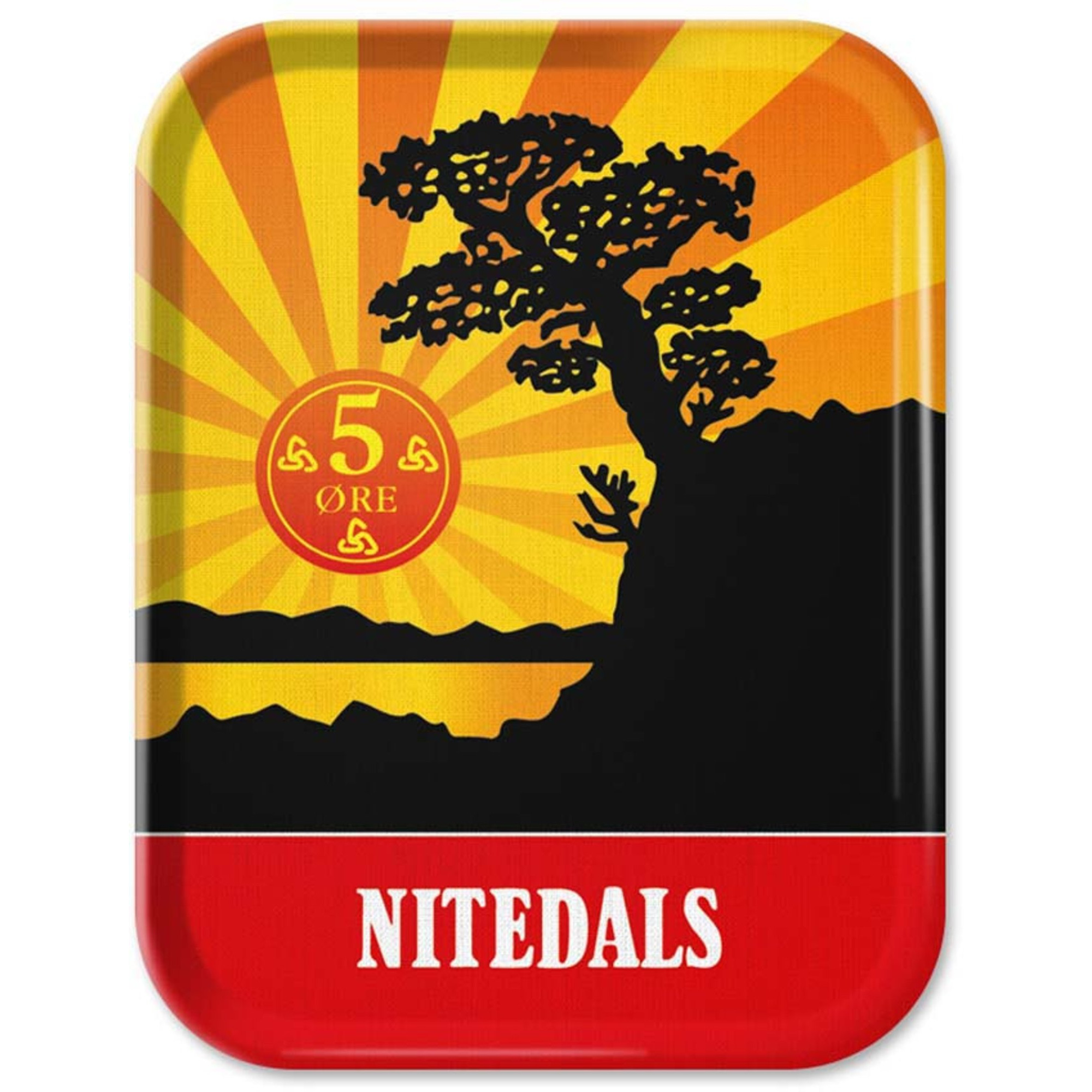 Nitedals Nitedals Bricka Original 36×28 cm
