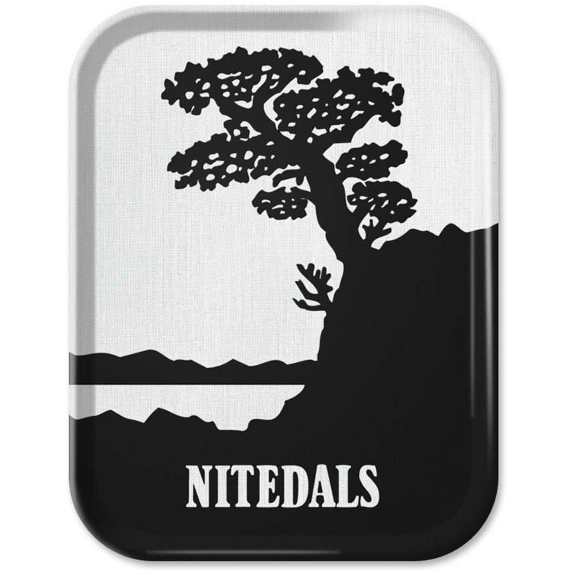 Nitedals Nitedals Bricka Svartvit 36×28 cm