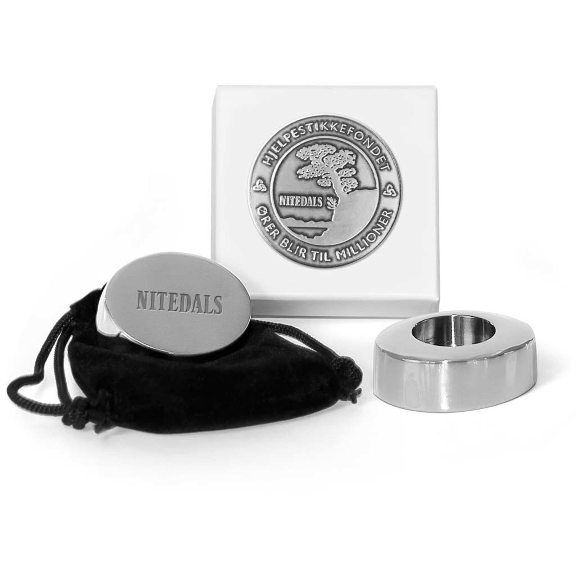 Nitedals Nitedals Ljusstake Silver