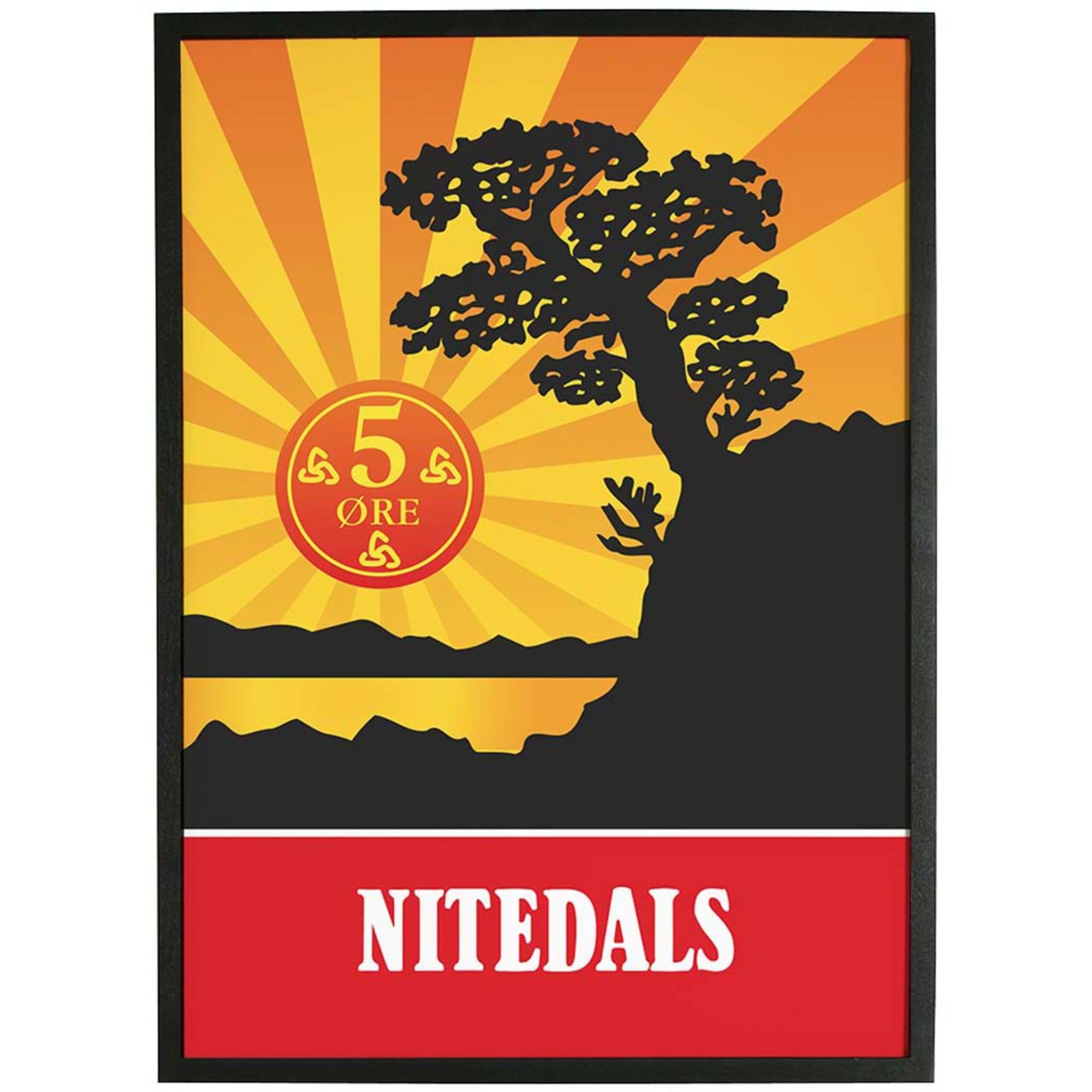Nitedals Nitedals Poster Original 50×70 cm