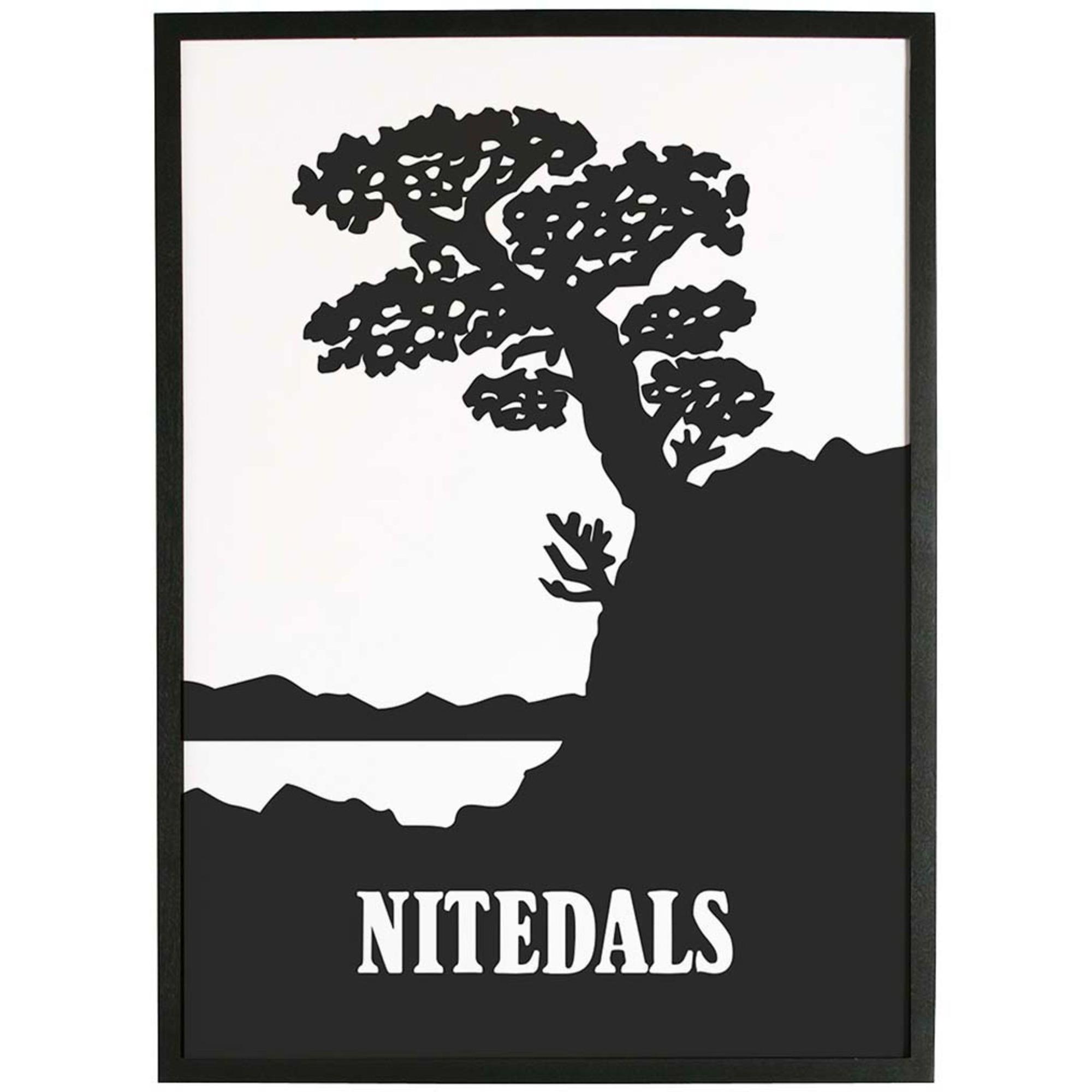Nitedals Nitedals Poster Svartvit 50×70 cm
