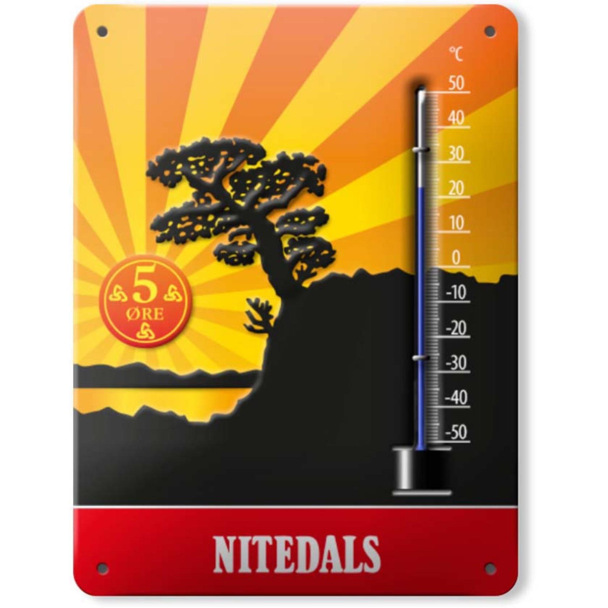 Nitedals Nitedals Termometer Aluminium