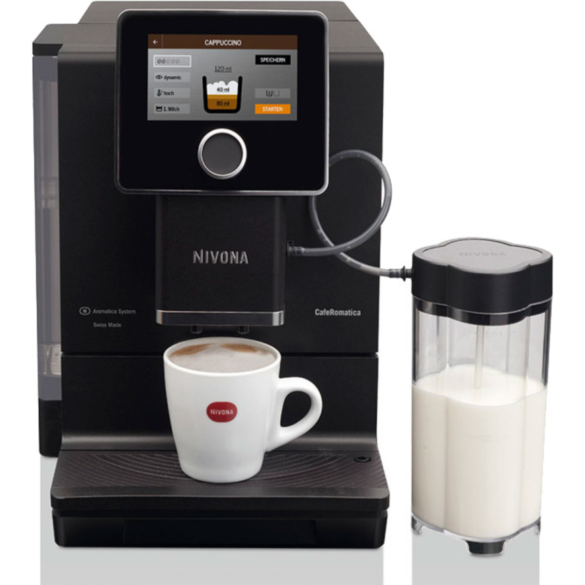 Nivona Kaffemaskin Svart matt 5 touch display NICR 960