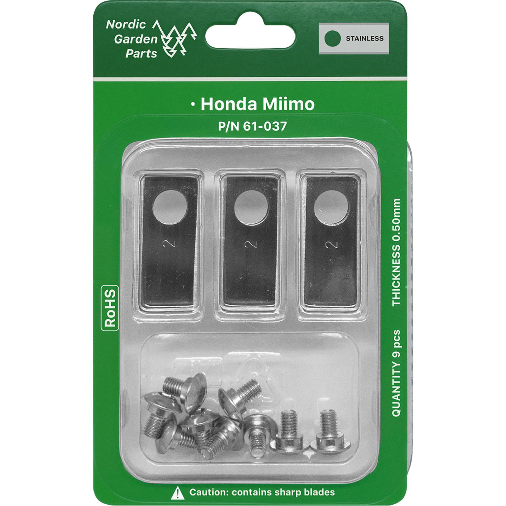 Nordic Garden Parts Knivar till Honda Miimo robotgräsklippare