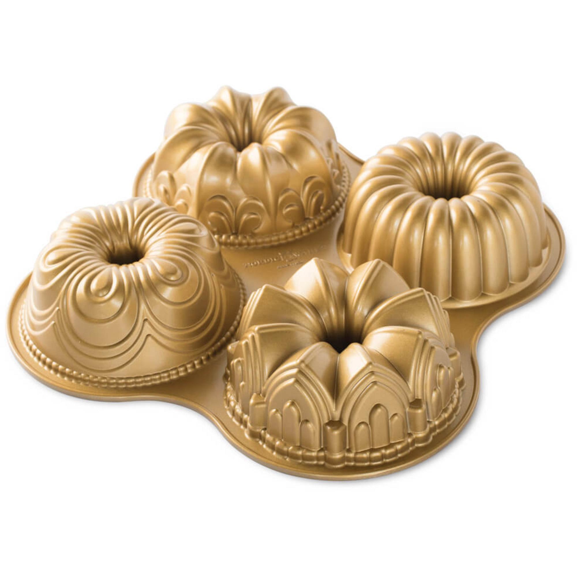 Nordic Ware Bakformar 70 Anniversary Gold