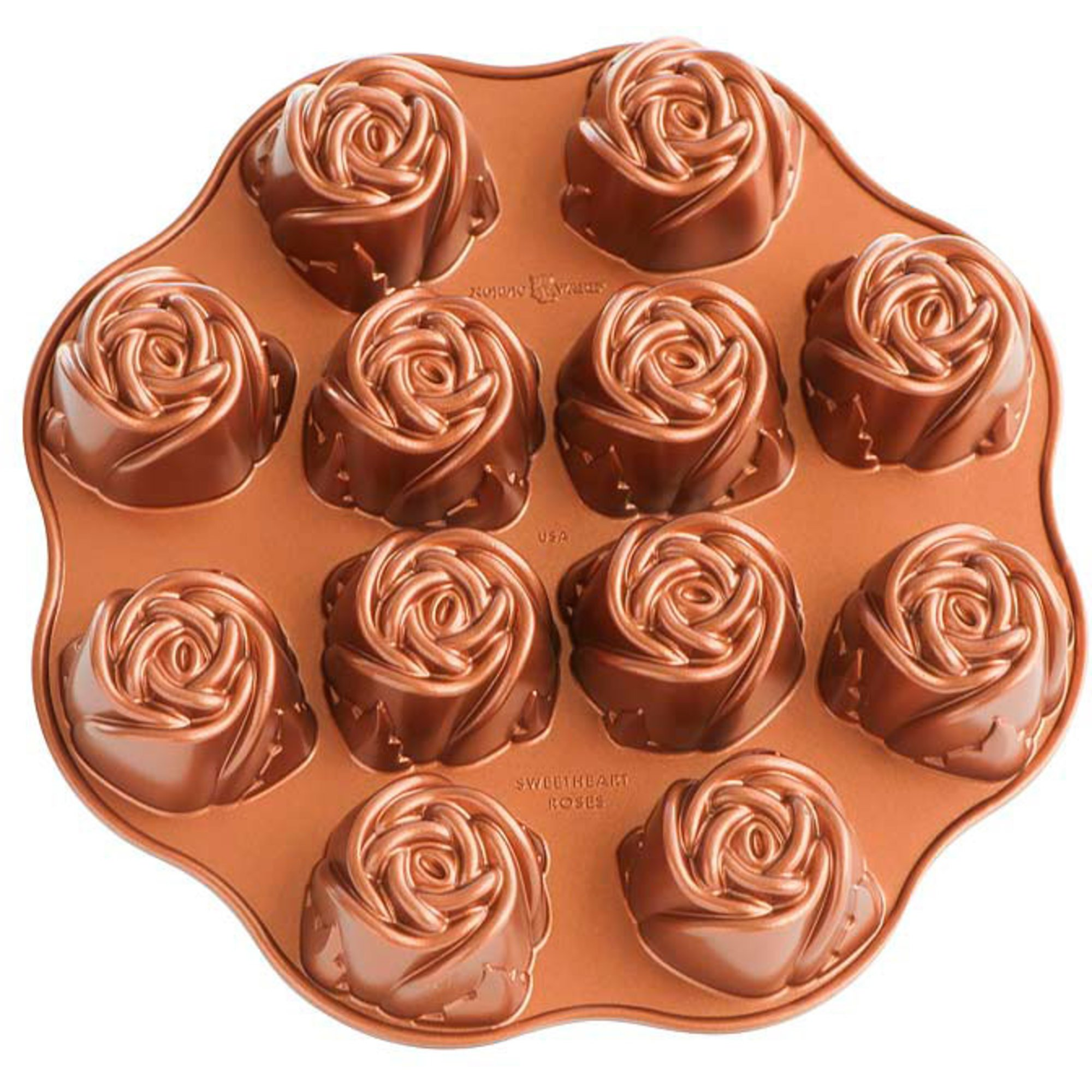 Nordic Ware Kakform Sweetheart Rose