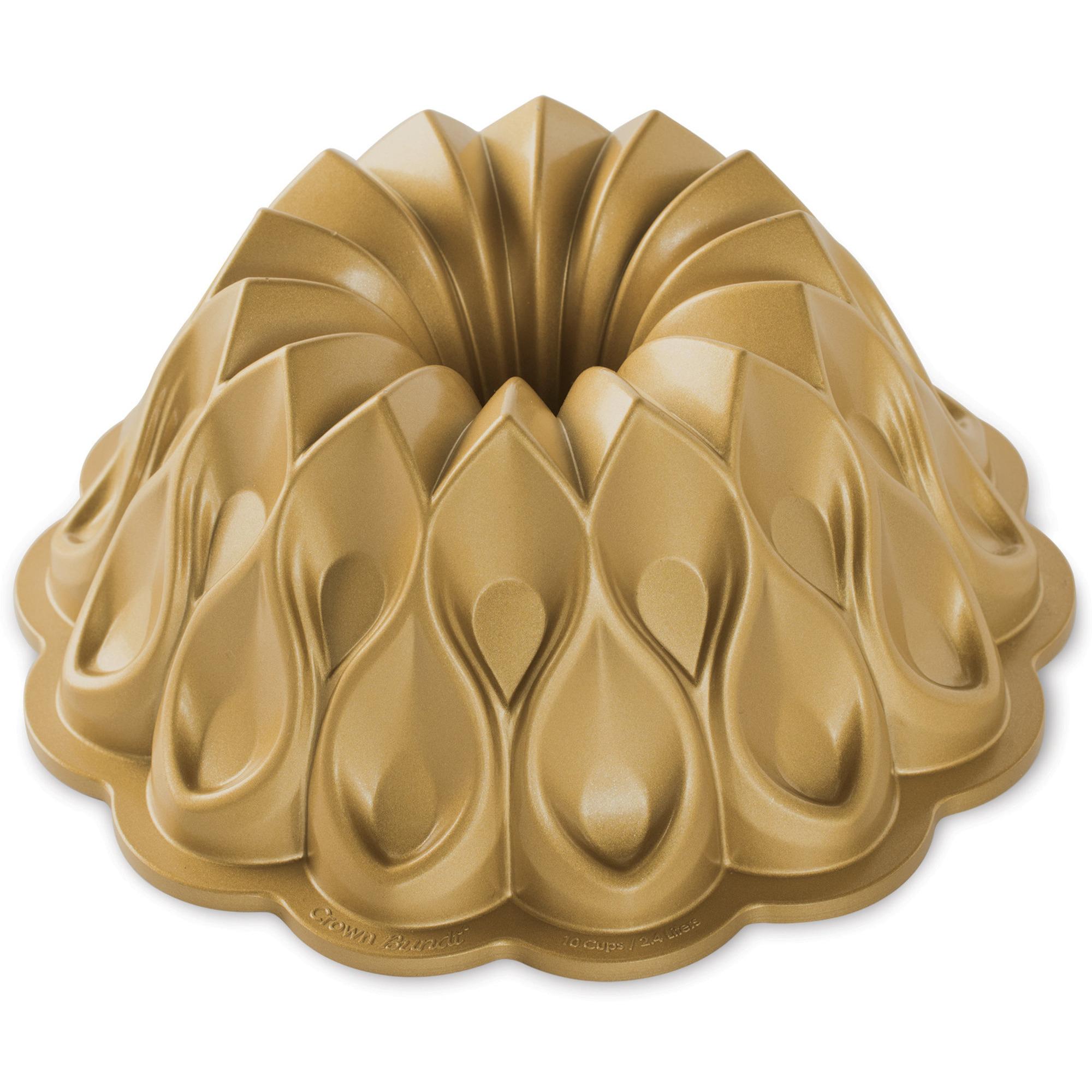 Nordic Ware Bakform Krona 70th Anniversary Gold