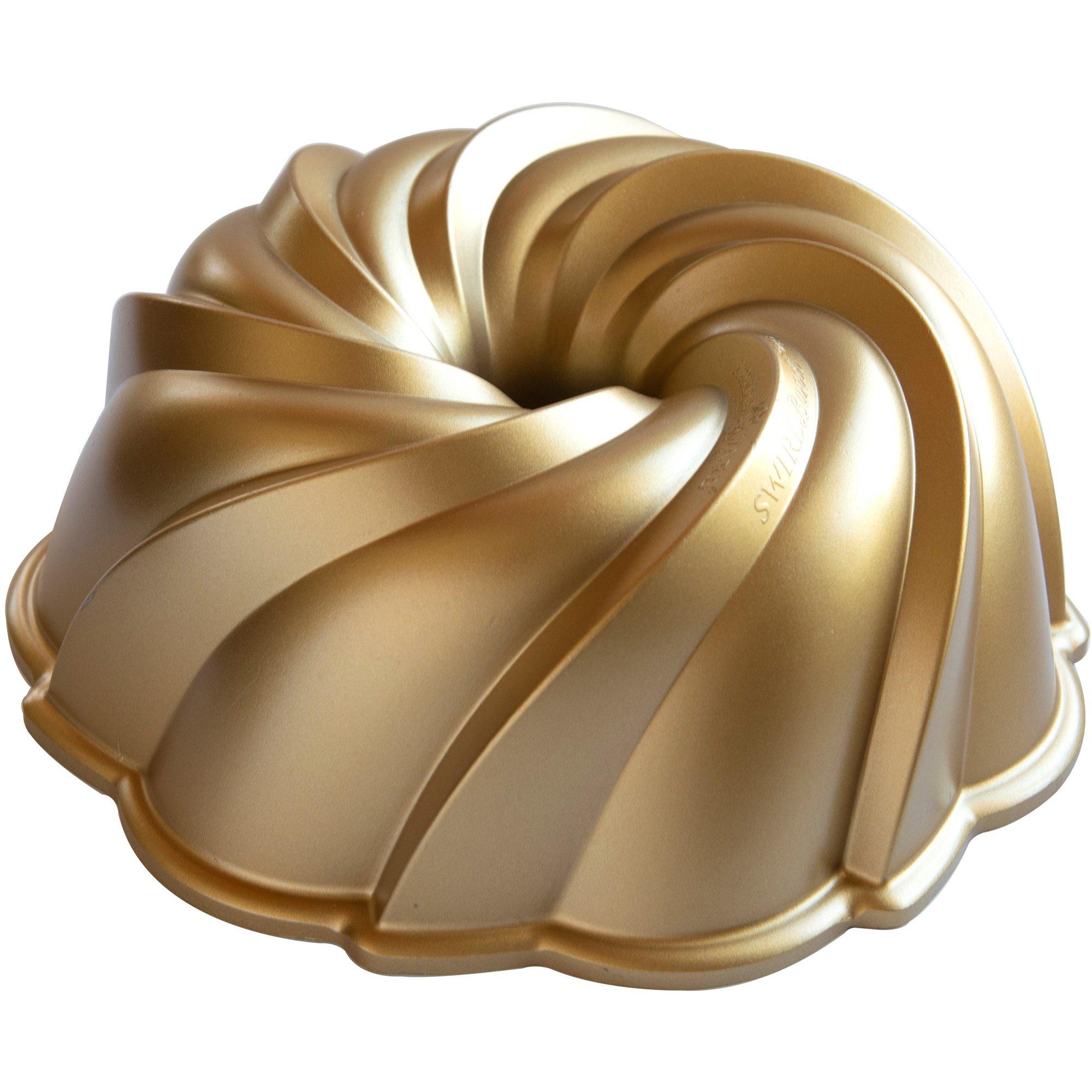 Nordic Ware Swirl Bundt Bakform 24 liter