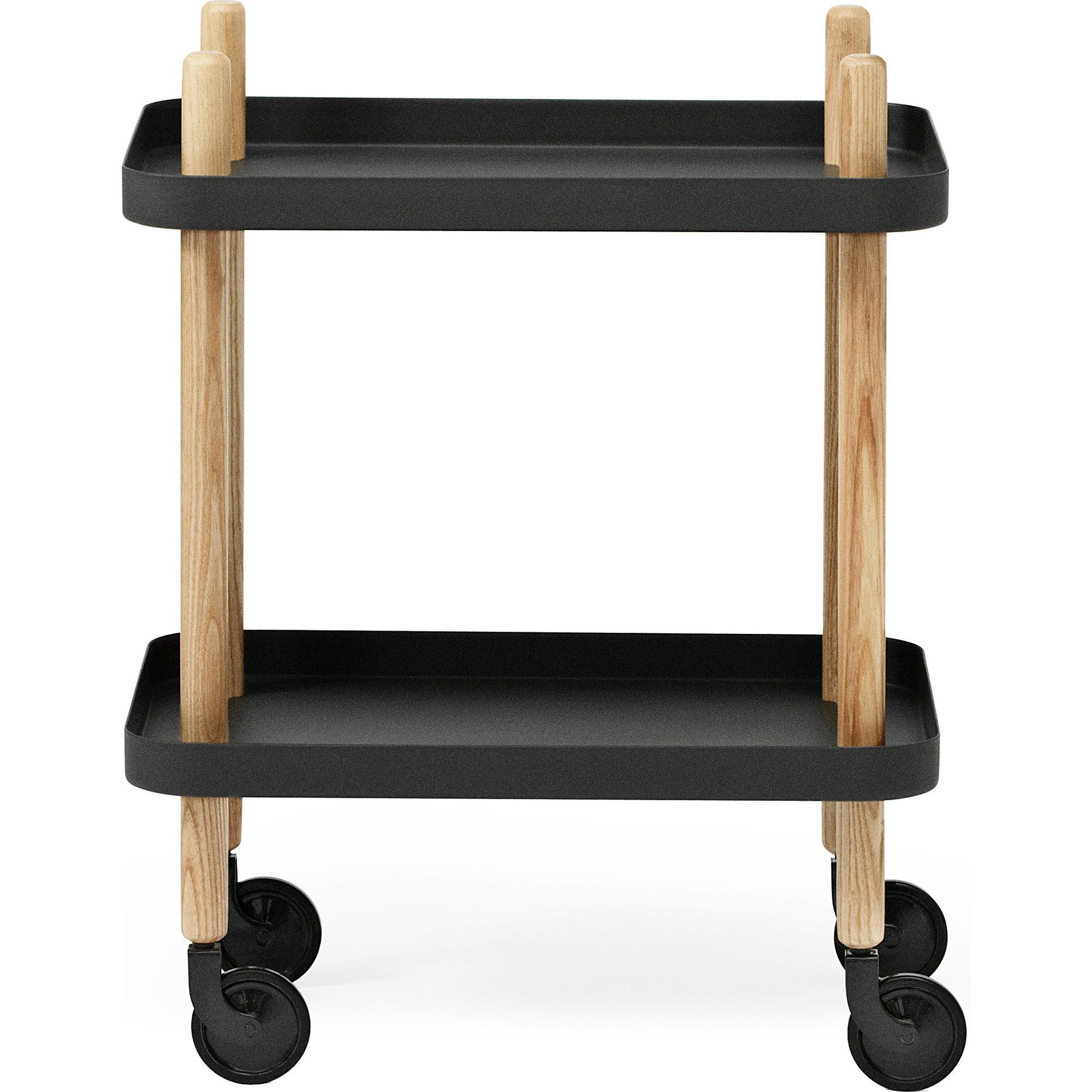 Normann Copenhagen Block Table Black