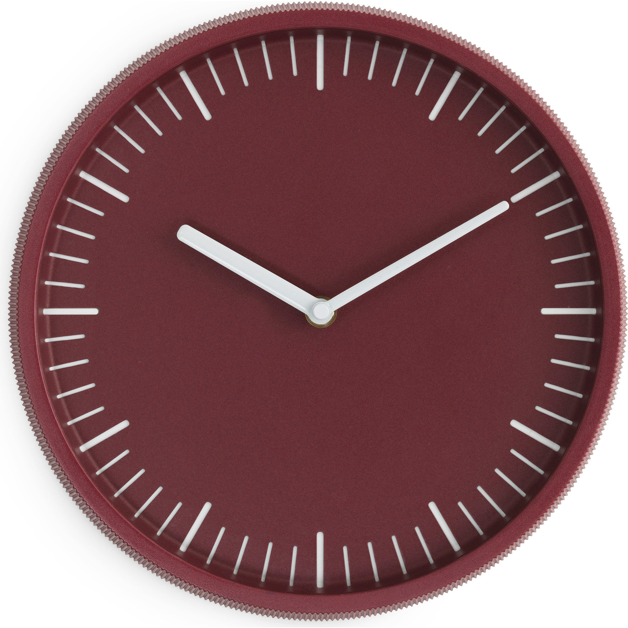 Normann Copenhagen Wall Clock Dark Red