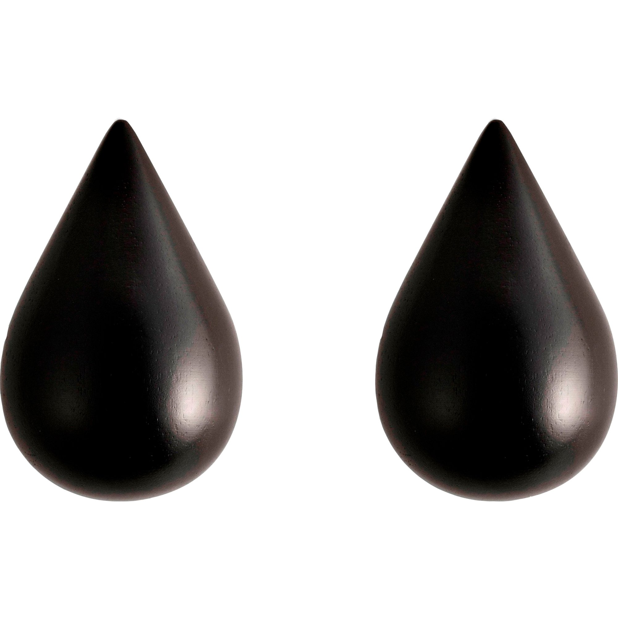 Normann Copenhagen Dropit Hooks Small – 2 pcs Blac