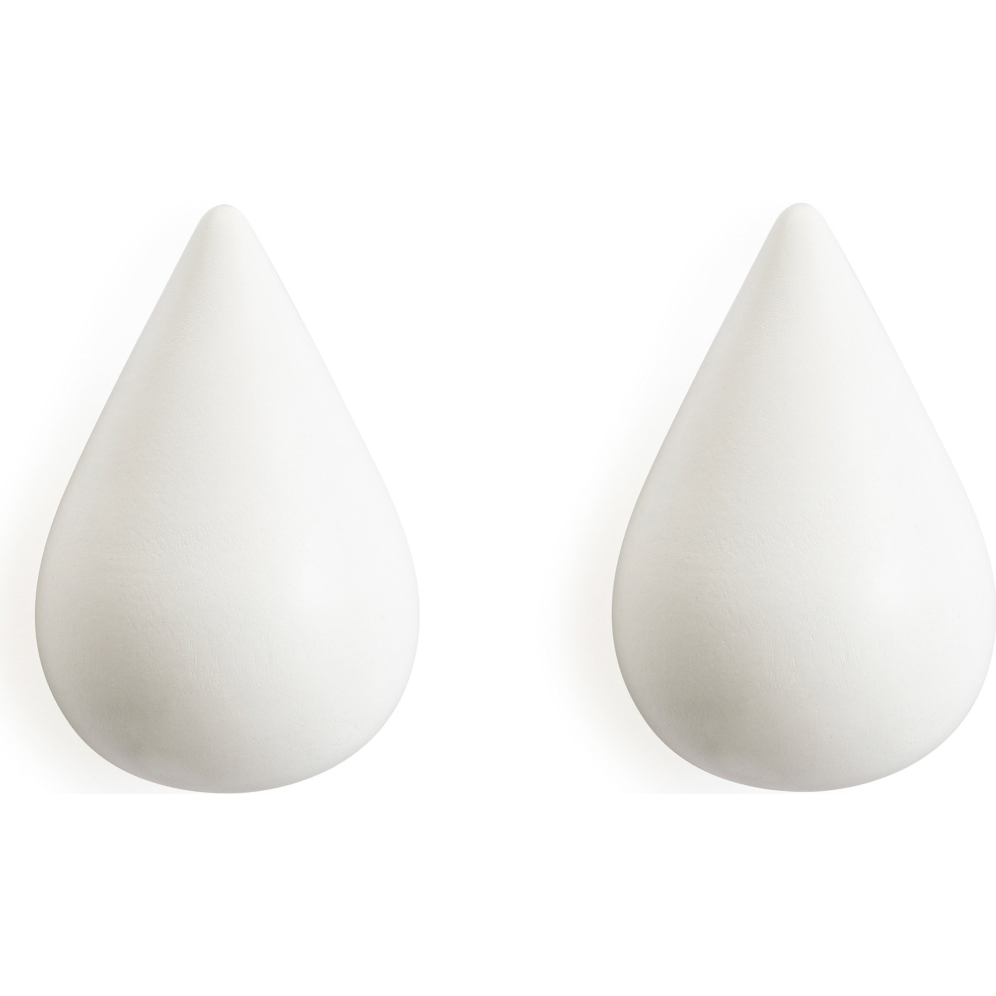 Normann Copenhagen Dropit Hooks Small – 2 pcs Whit