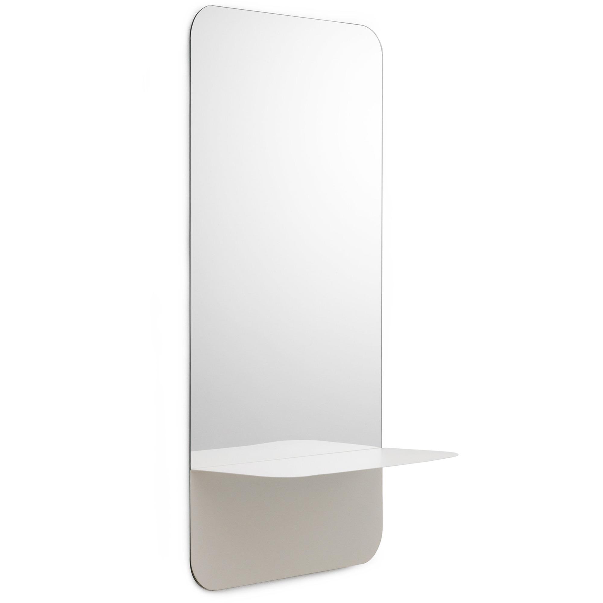 Normann Copenhagen Horizon spegel vertikal vit