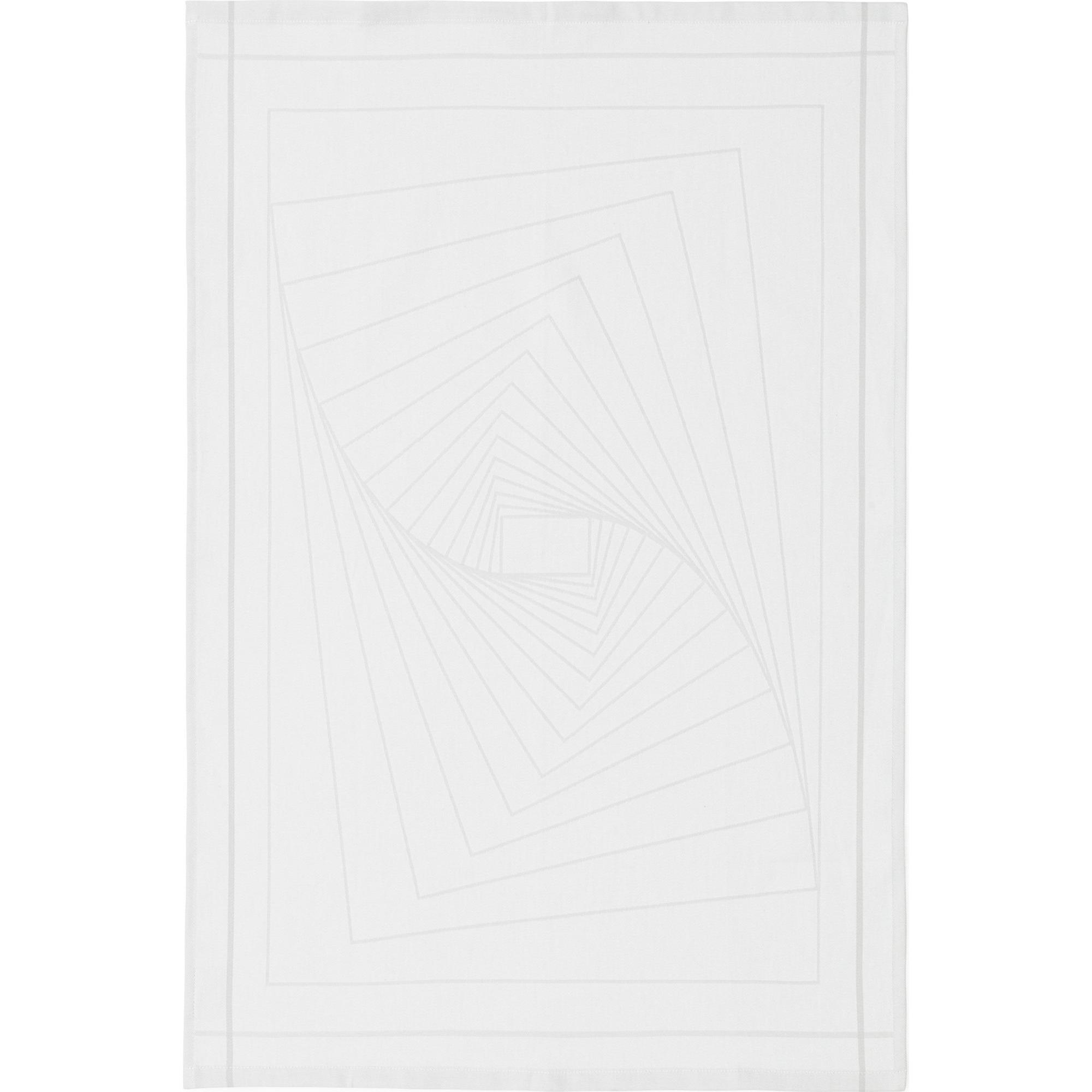 Normann Copenhagen Illusion Tea Towel White