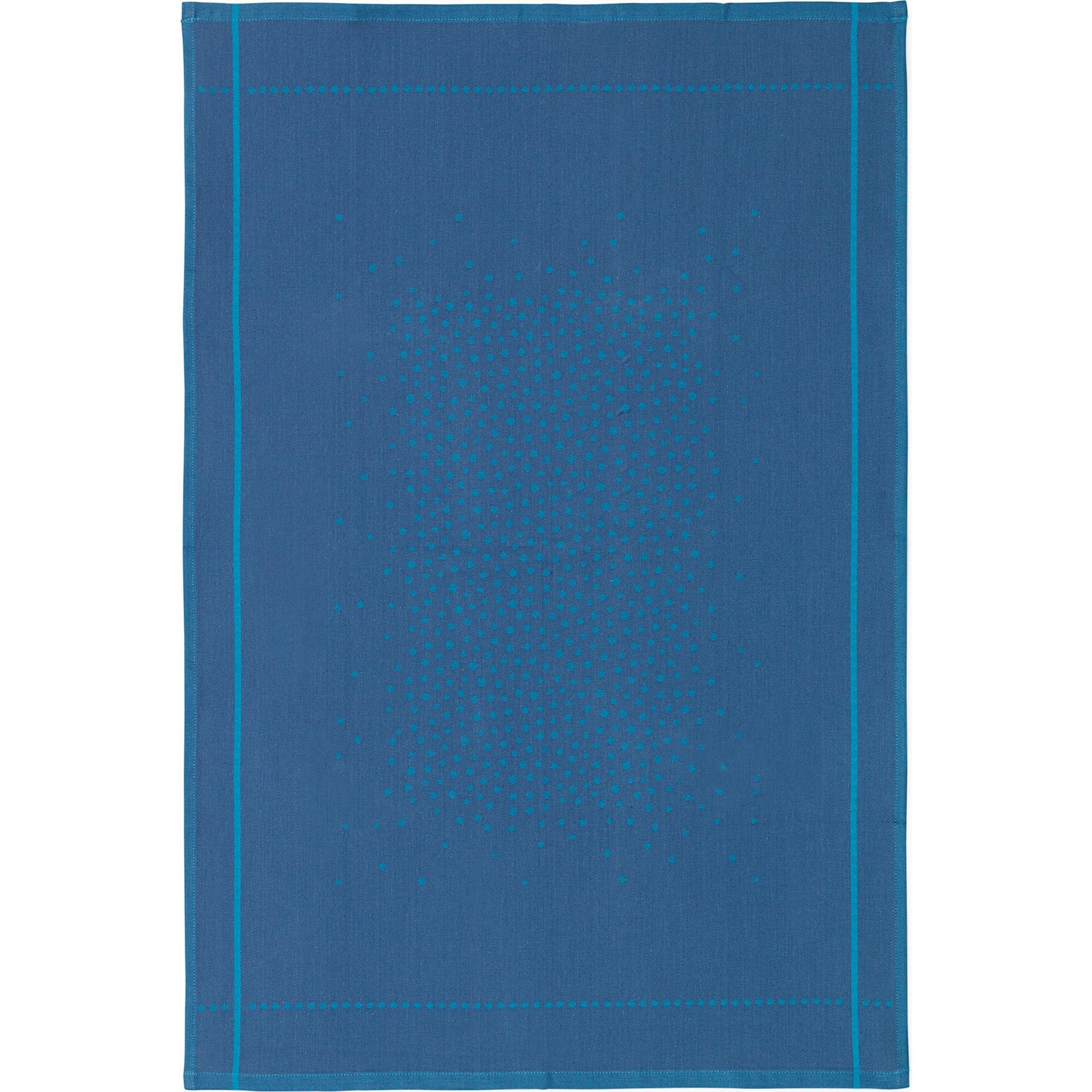 Normann Copenhagen Illusion Tea Towel Blue