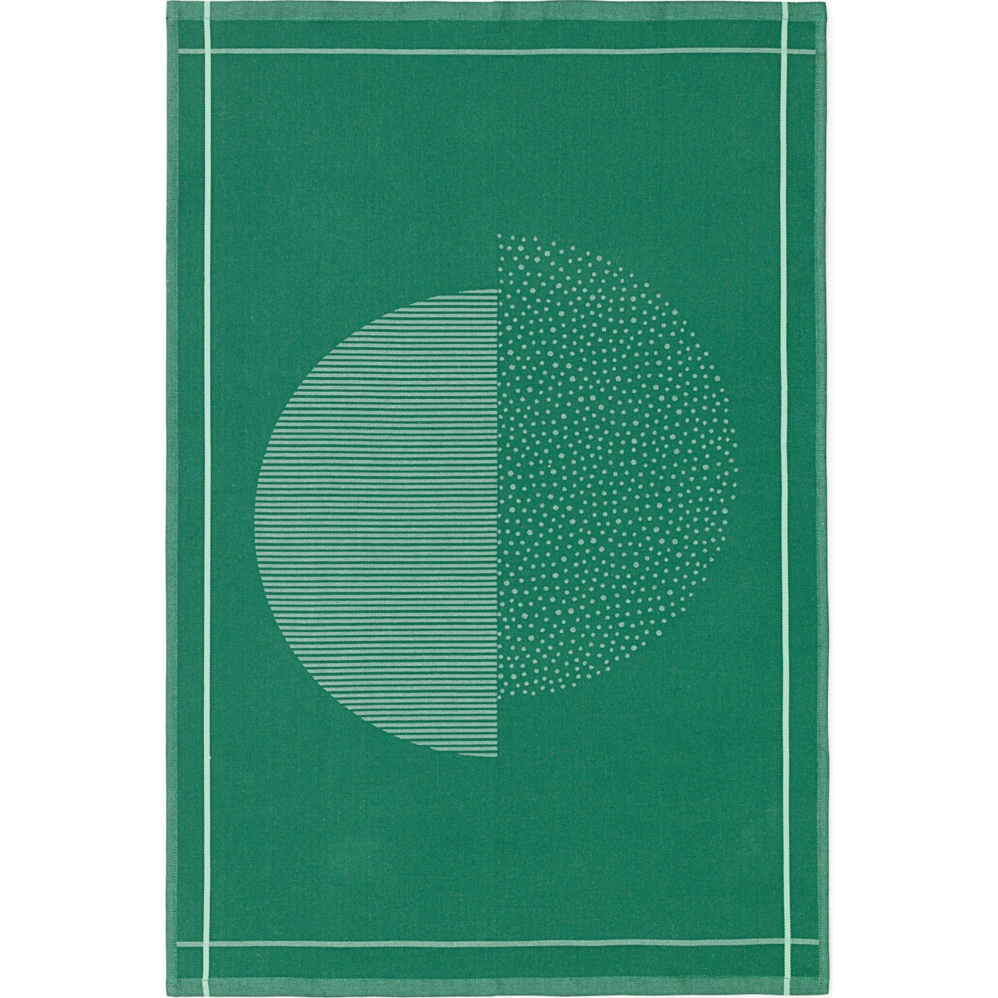 Normann Copenhagen Illusion Tea Towel Green