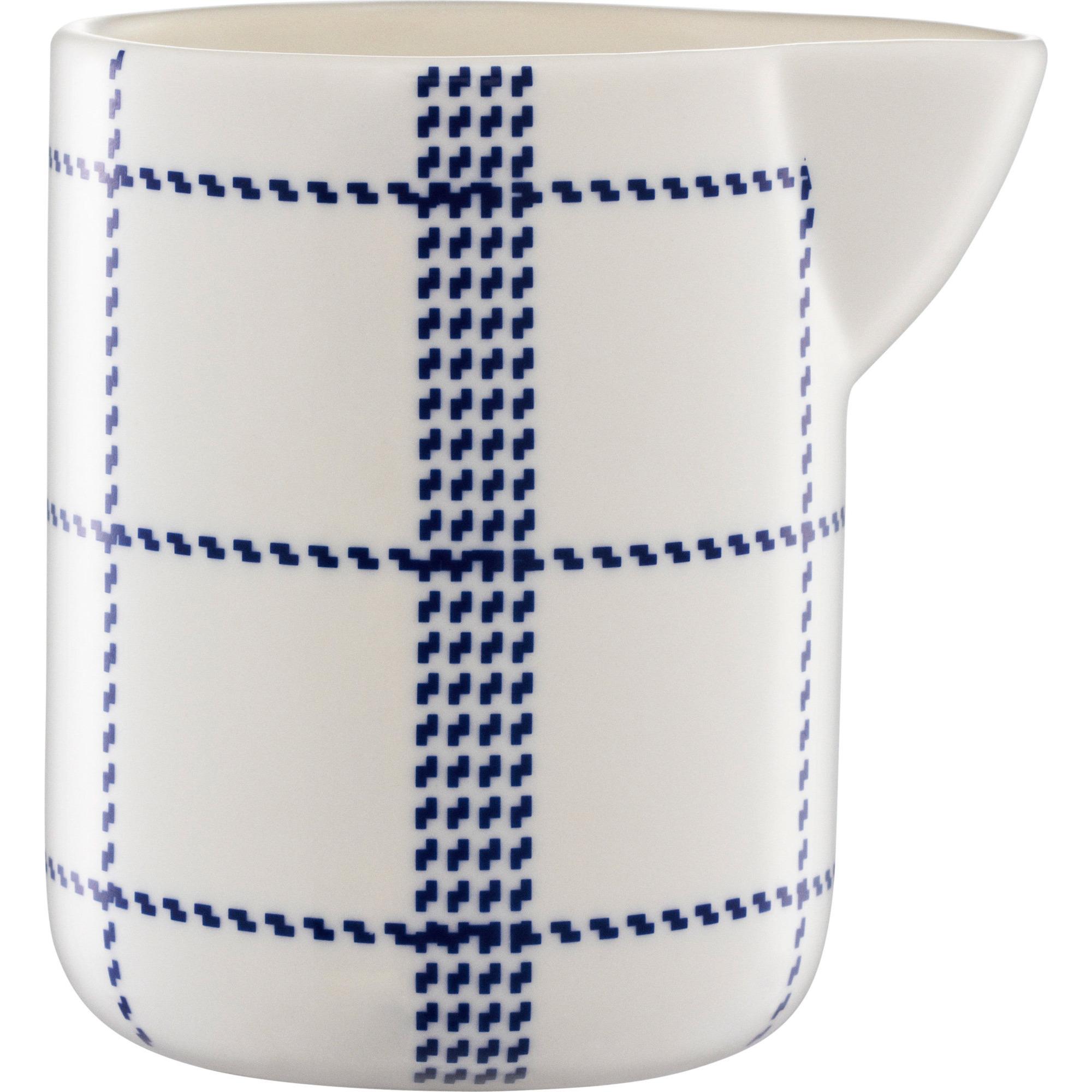 Normann Copenhagen Mormor Blue Milk jug 30 cl Whit