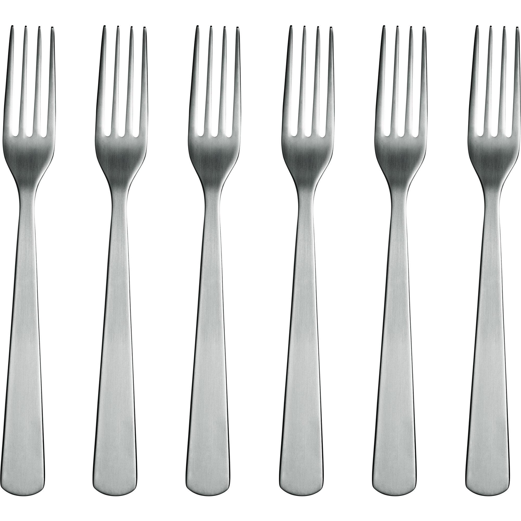Normann Copenhagen Normann Forks – 6 pack Steel