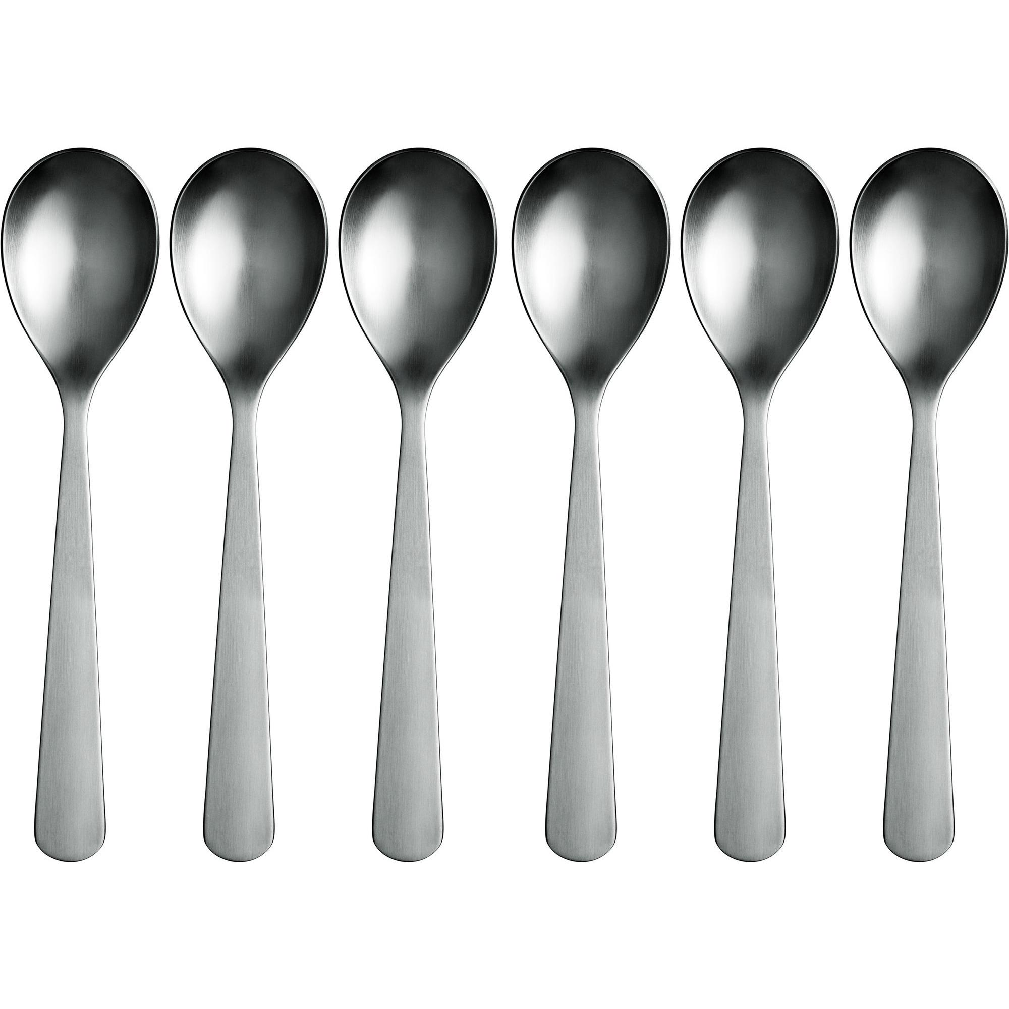 Normann Copenhagen Normann Spoons – 6 pack Steel