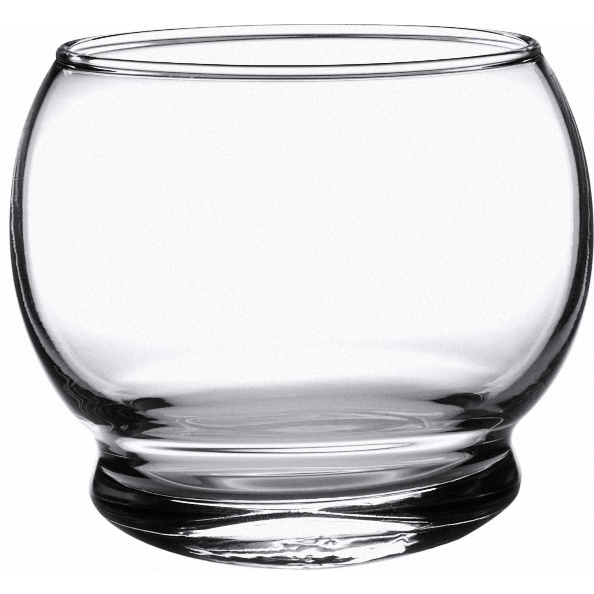 Normann Copenhagen Rocking Glass – 4 pcs 25 cl Gl