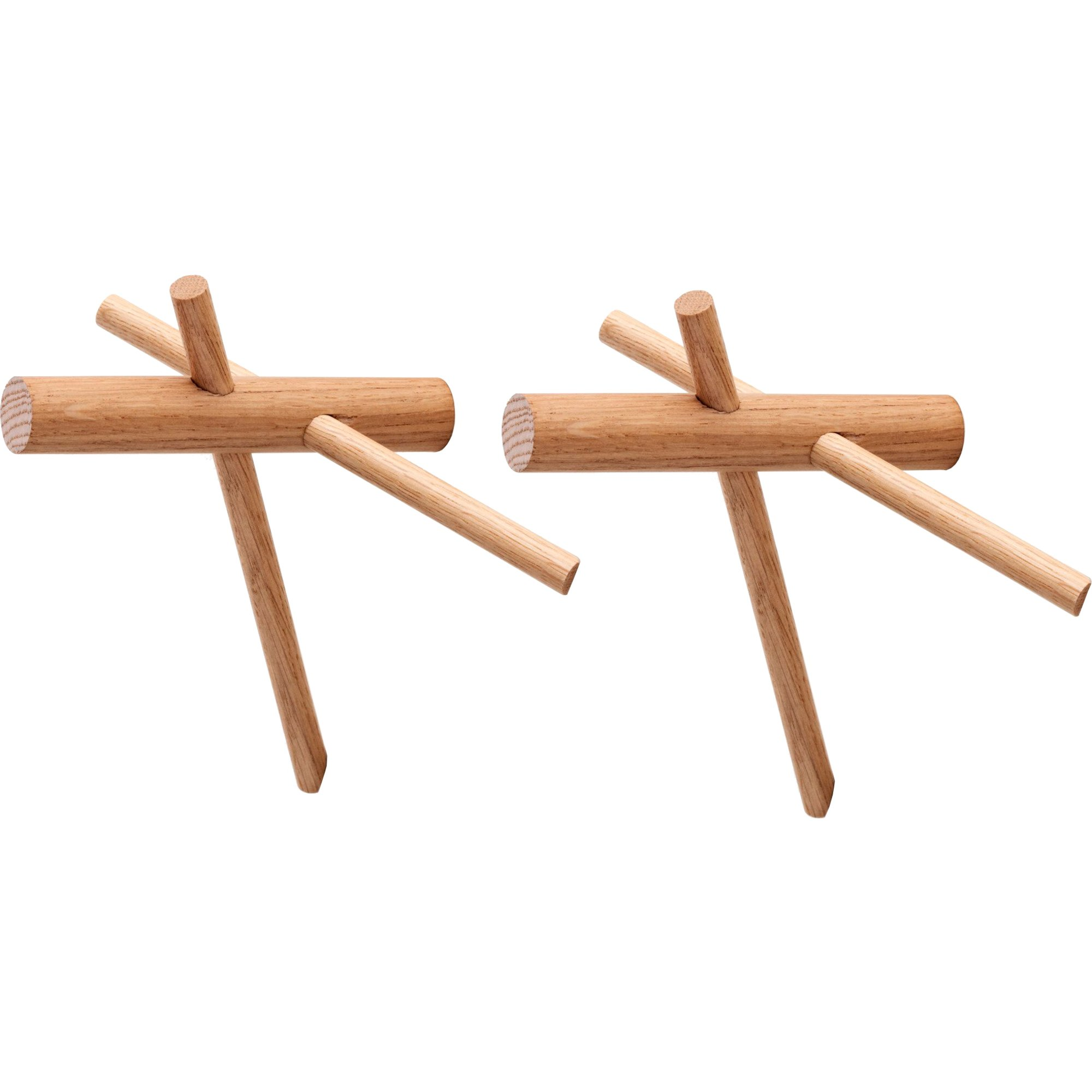 Normann Copenhagen Sticks Hooks – 2 pcs Nature