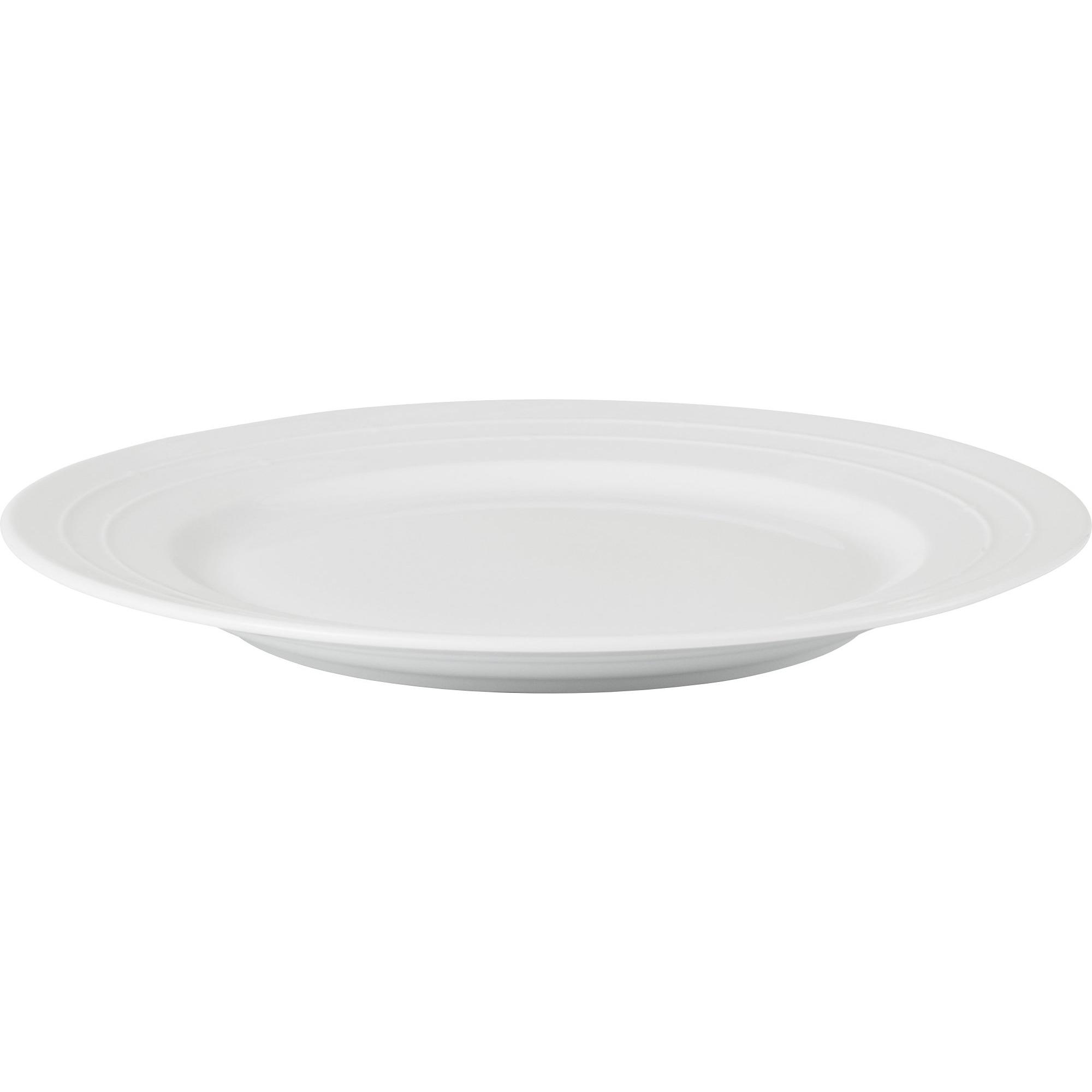Normann Copenhagen Banquet Tallrik Ø 27 cm Vit