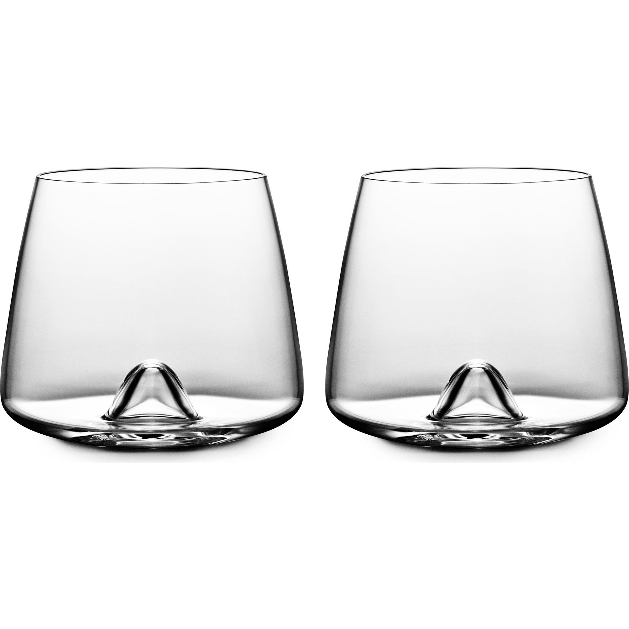 Normann Copenhagen Whiskey Glass – 2 pcs 30 cl Gl