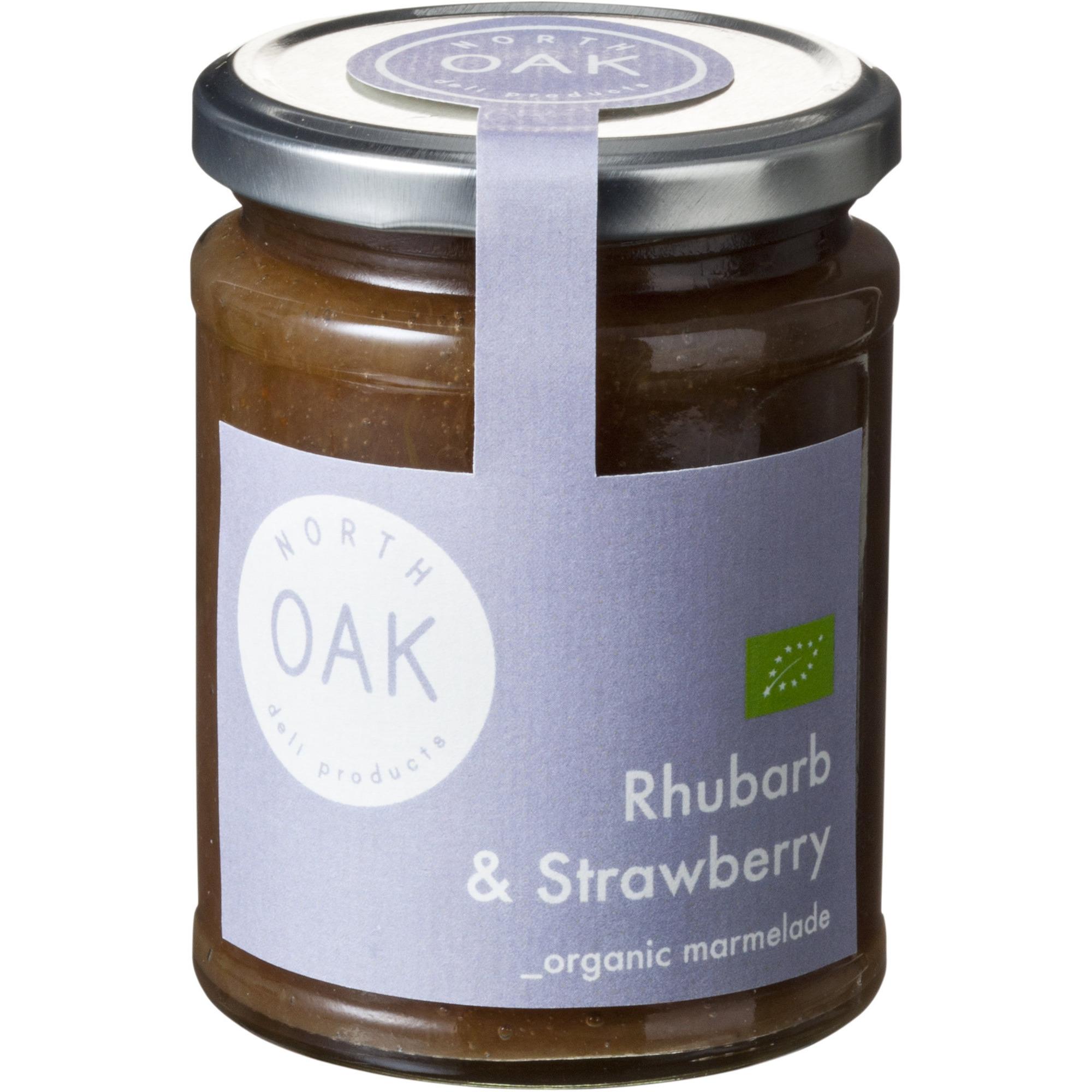 North Oak Rabarber/Jordgubb marmelad