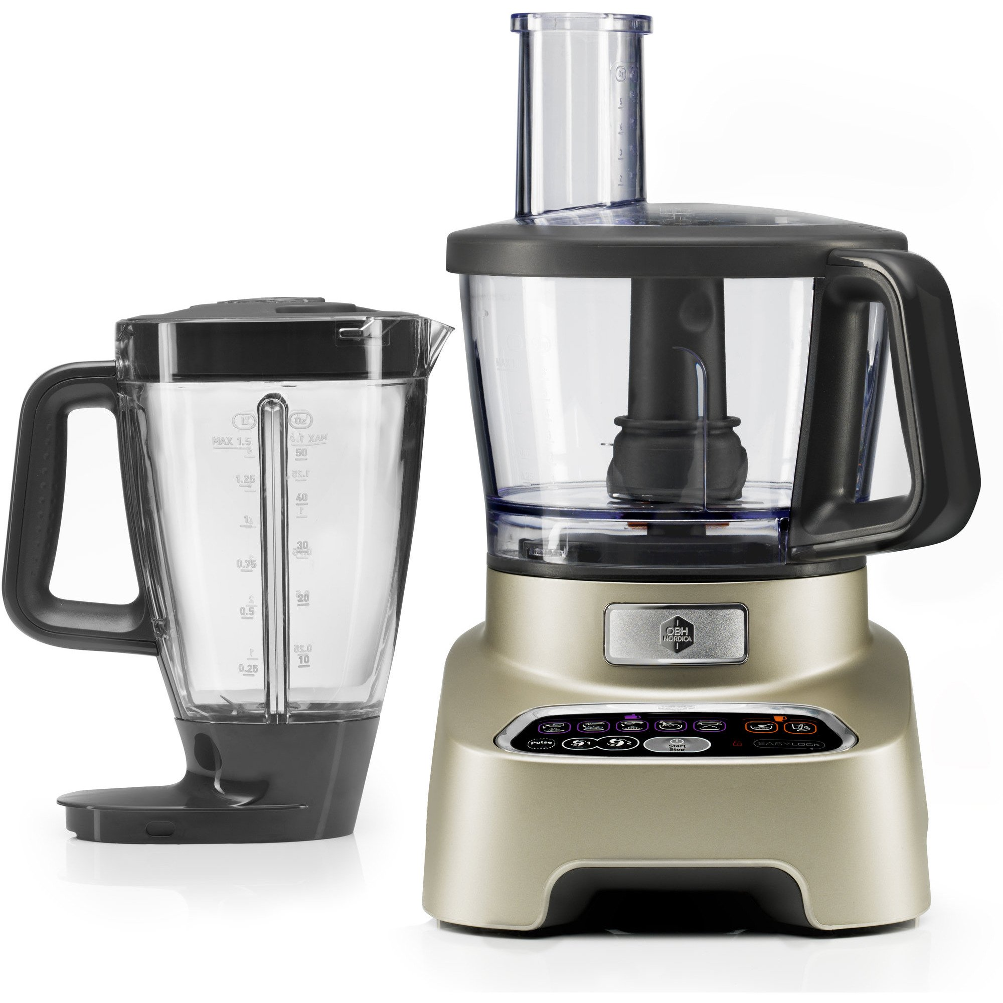 OBH Double Force food processor metal